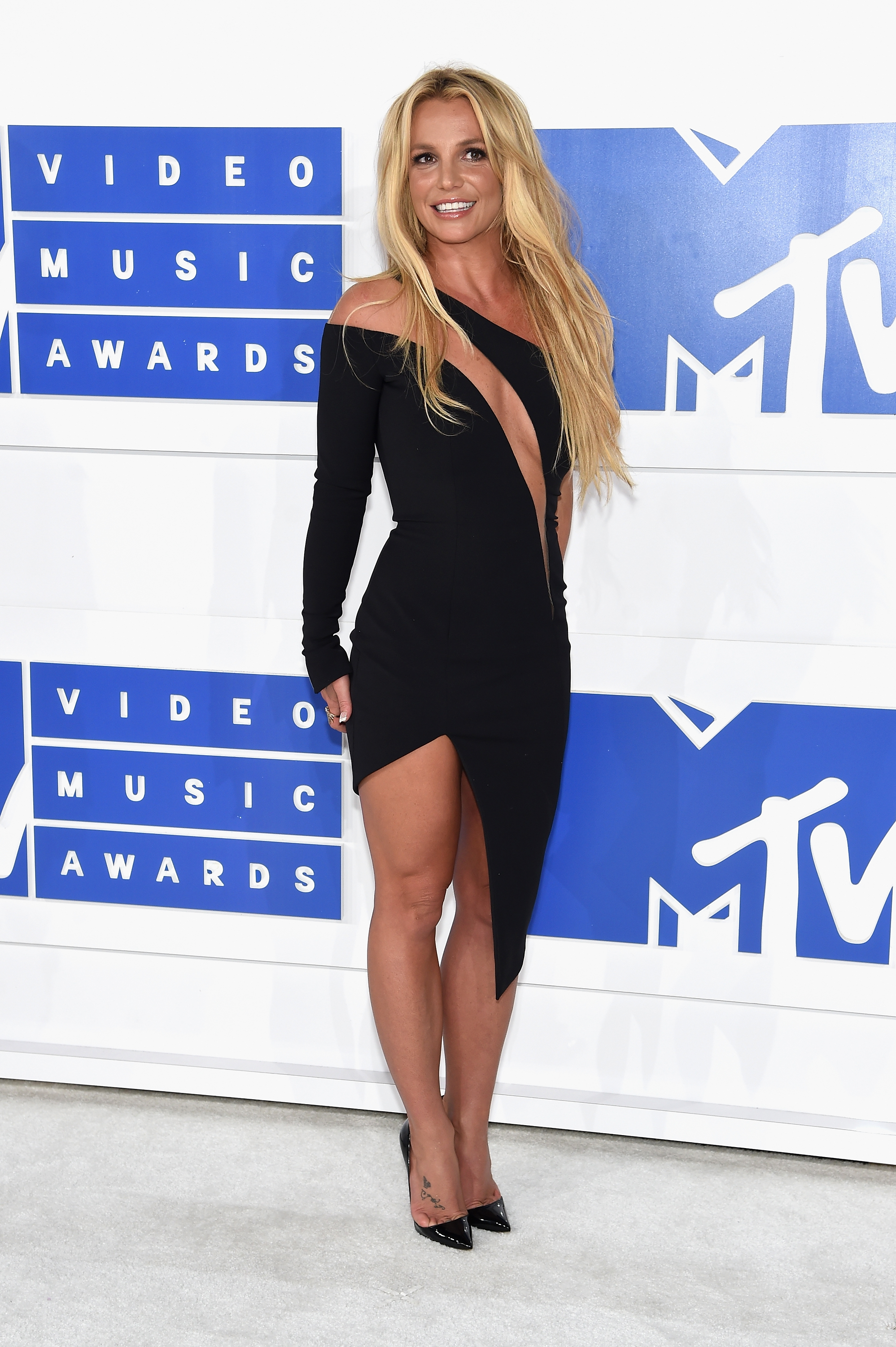 Britney Spears attends the 2016 MTV Video Music Awards at Madison Square Garden on Aug. 28, 2016 in New York City.