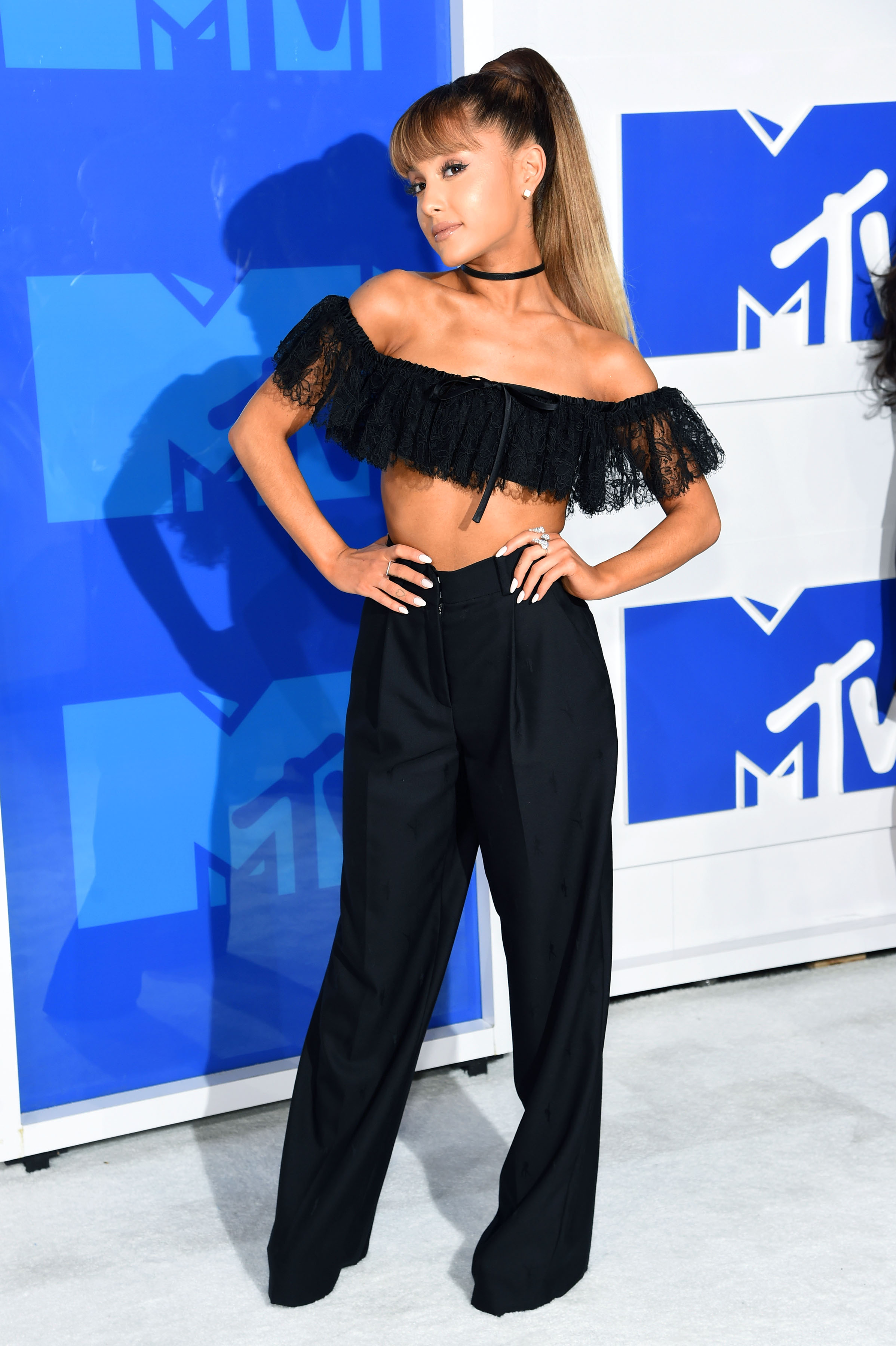 Ariana Grande attends the 2016 MTV Video Music Awards at Madison Square Garden on Aug. 28, 2016 in New York City.