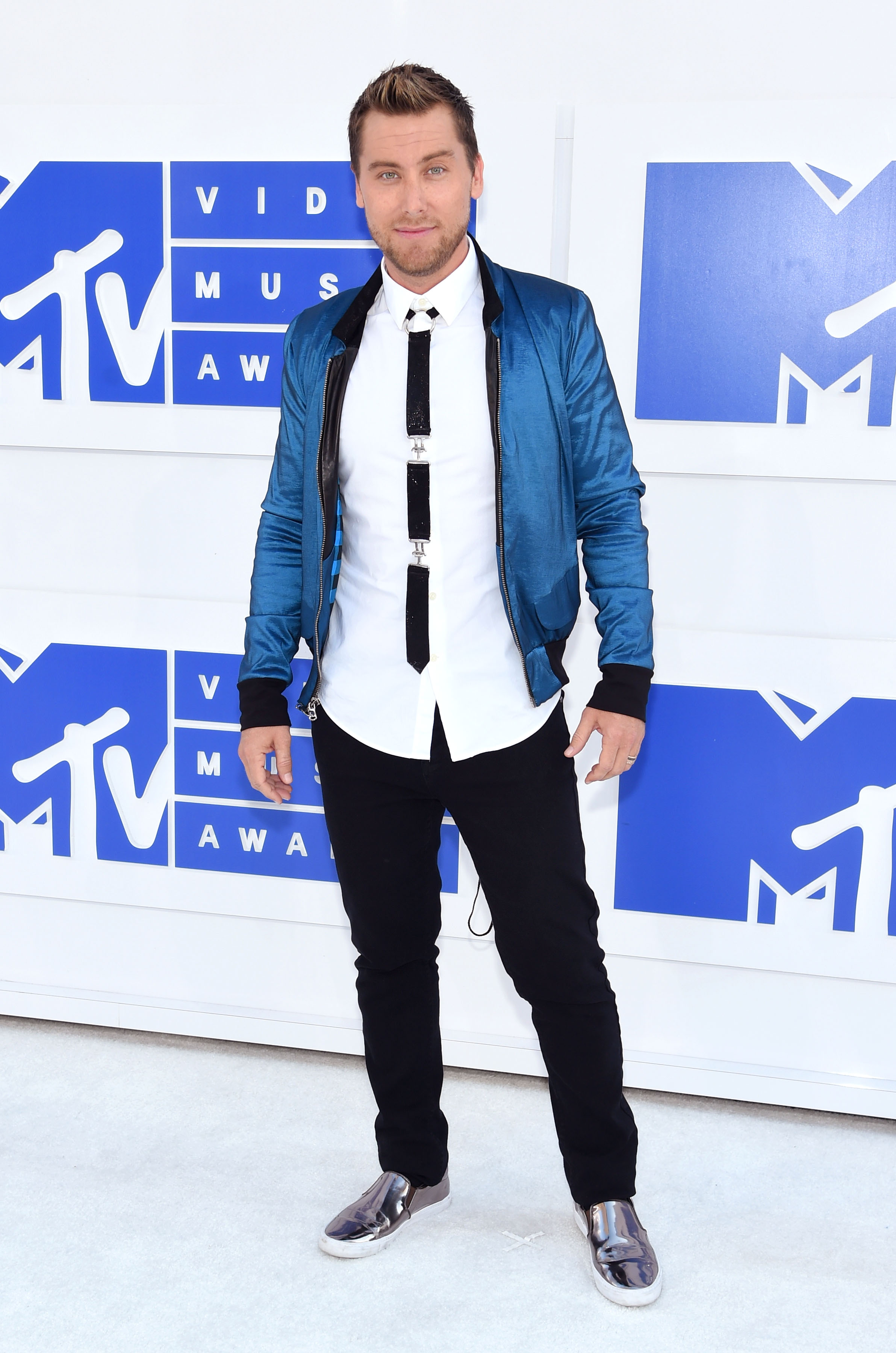 Lance Bass attends the 2016 MTV Video Music Awards at Madison Square Garden on Aug. 28, 2016 in New York City.