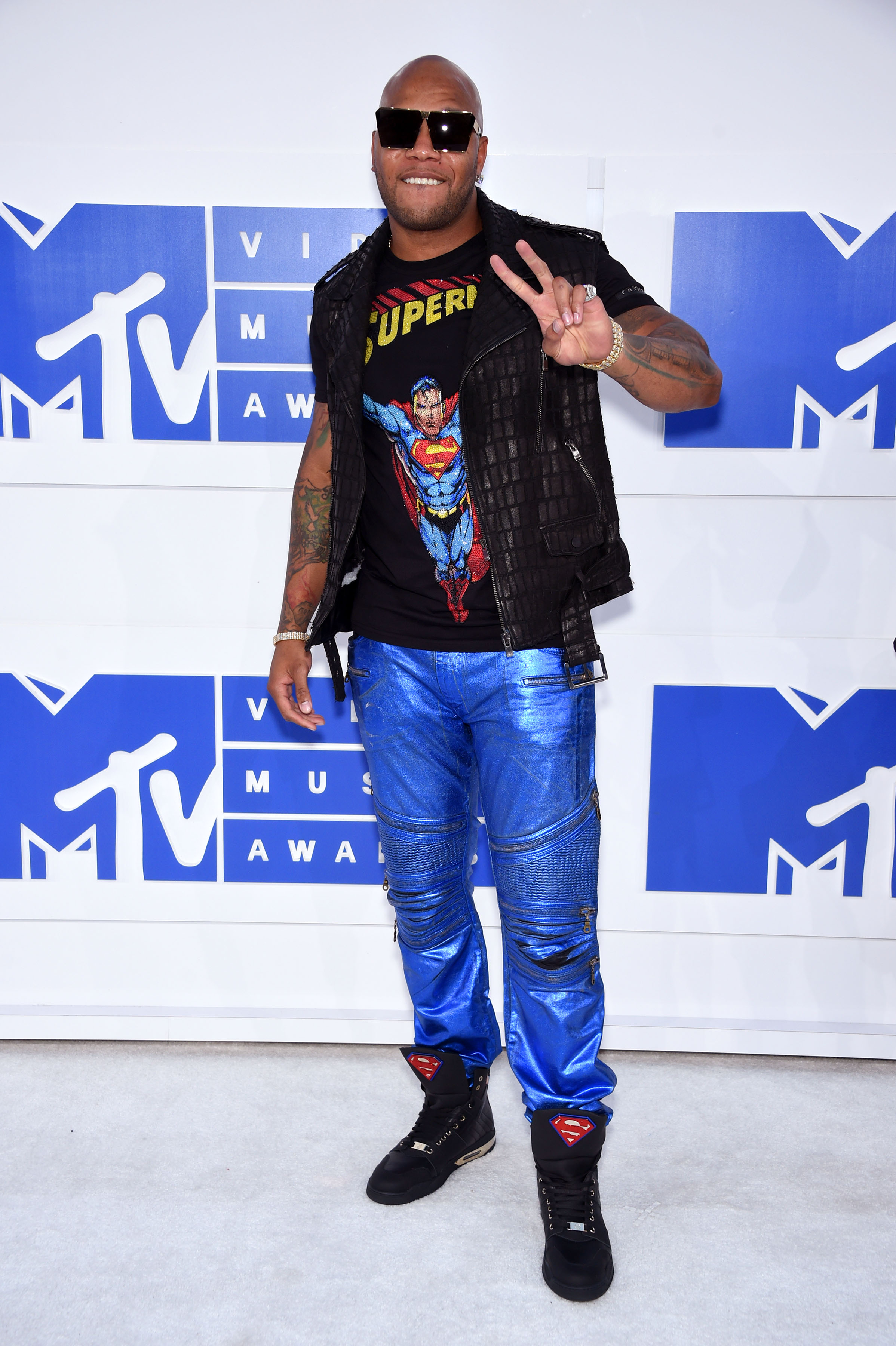Flo Rida attends the 2016 MTV Video Music Awards at Madison Square Garden on Aug. 28, 2016 in New York City.