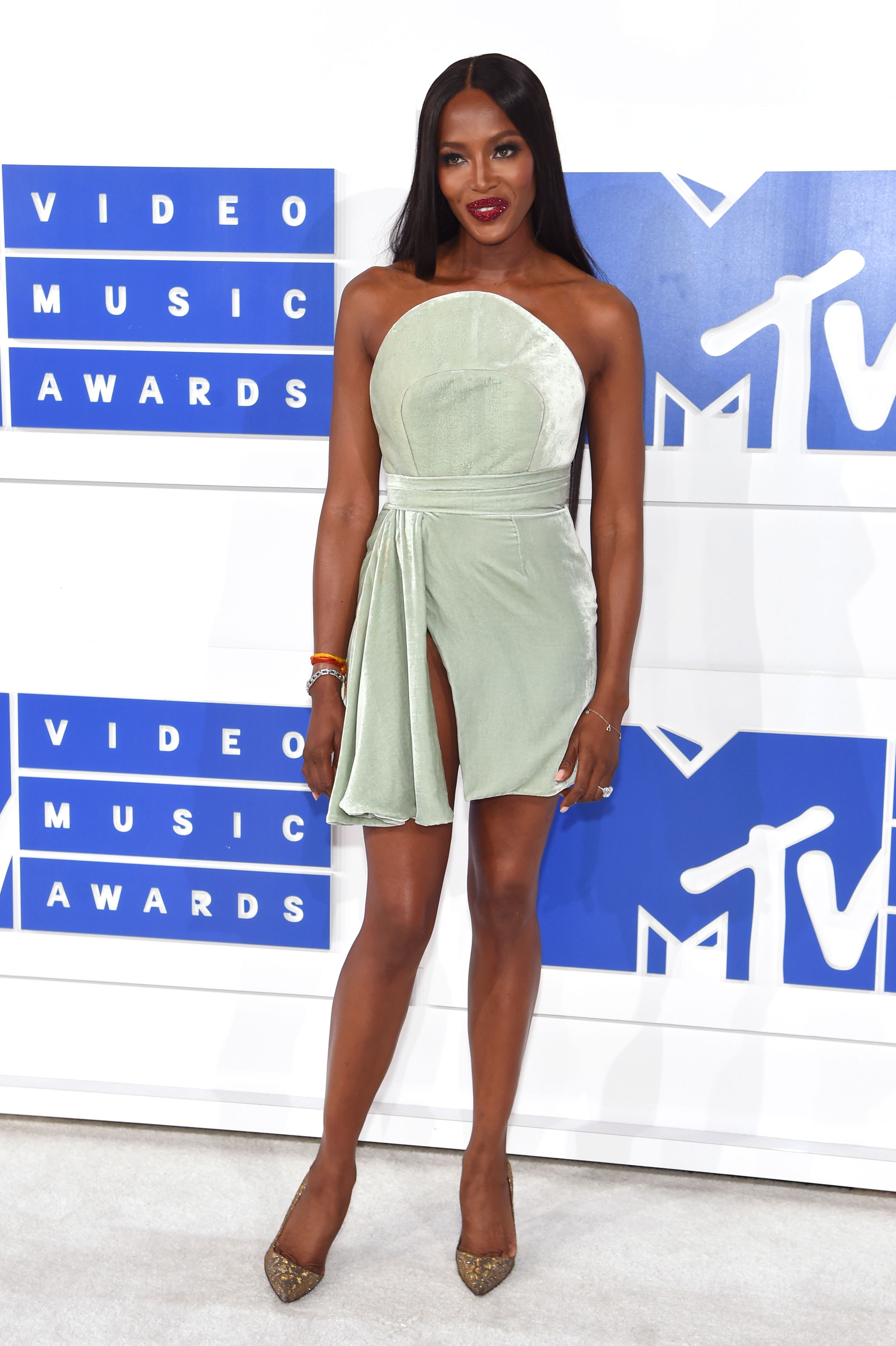 Naomi Campbell attends the 2016 MTV Video Music Awards at Madison Square Garden on Aug. 28, 2016 in New York City.