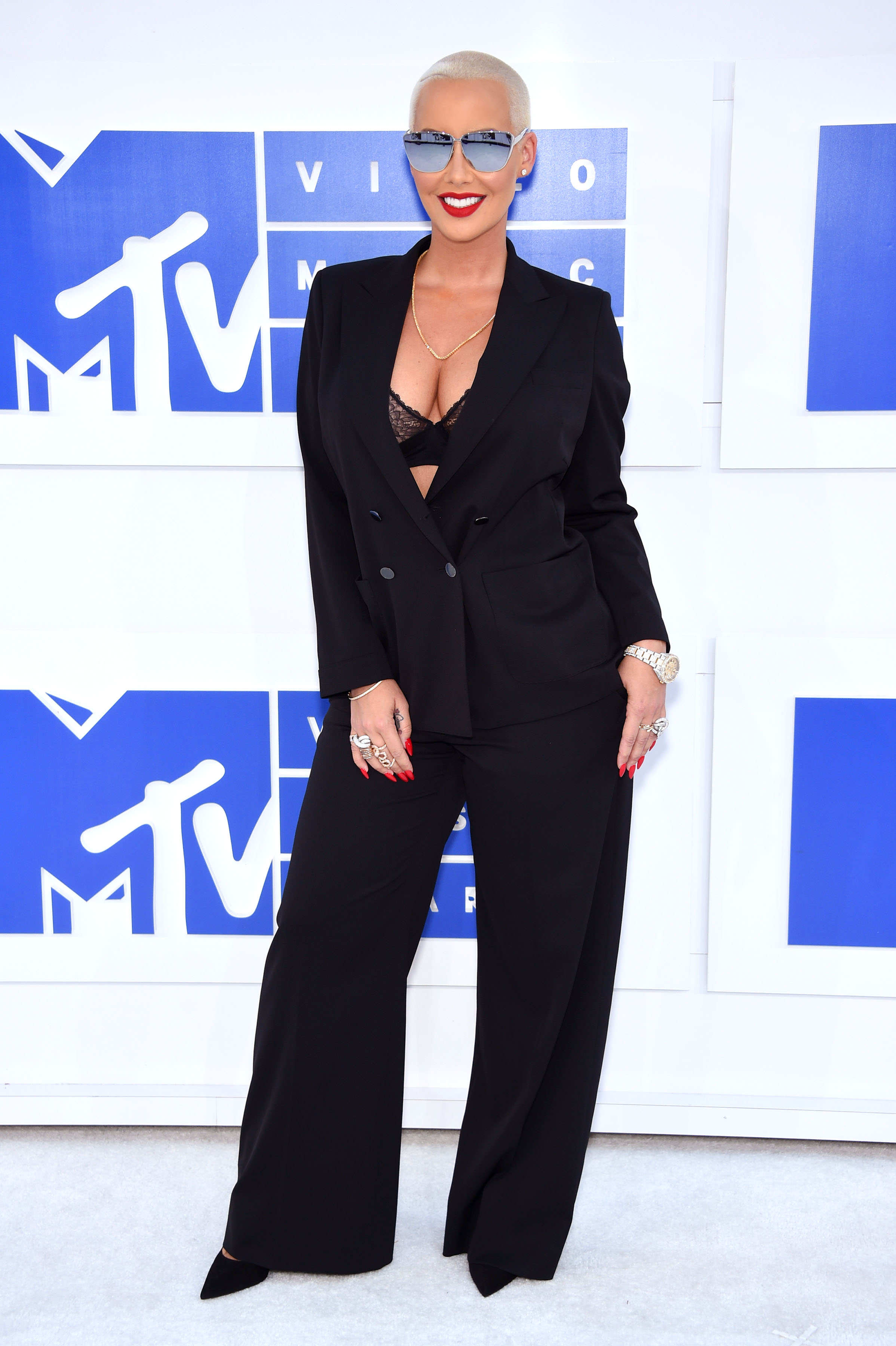 Amber Rose attends the 2016 MTV Video Music Awards at Madison Square Garden on Aug. 28, 2016 in New York City.