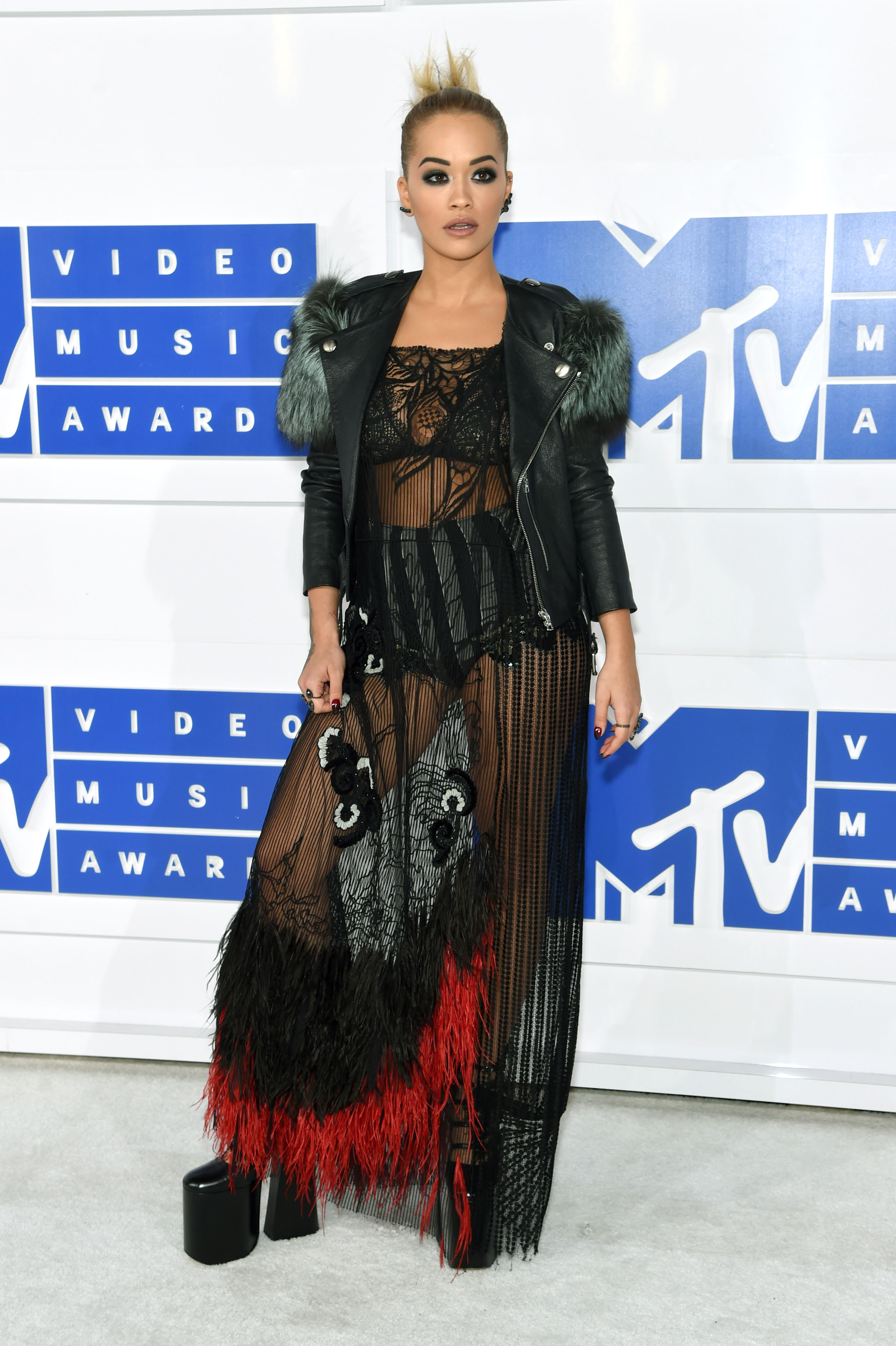 Rita Ora attends the 2016 MTV Video Music Awards at Madison Square Garden on Aug. 28, 2016 in New York City.