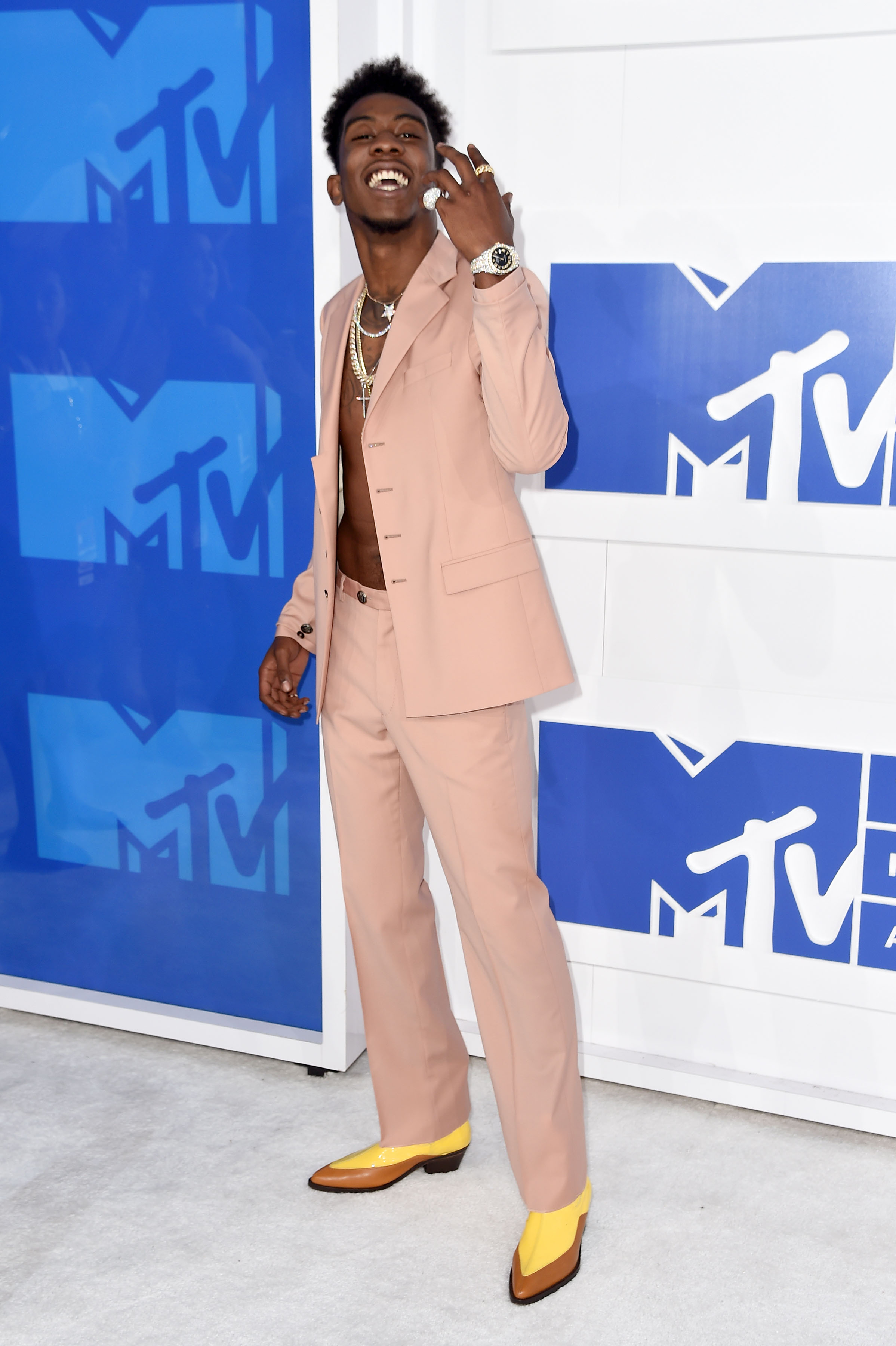 Desiigner attends the 2016 MTV Video Music Awards at Madison Square Garden on Aug. 28, 2016 in New York City.