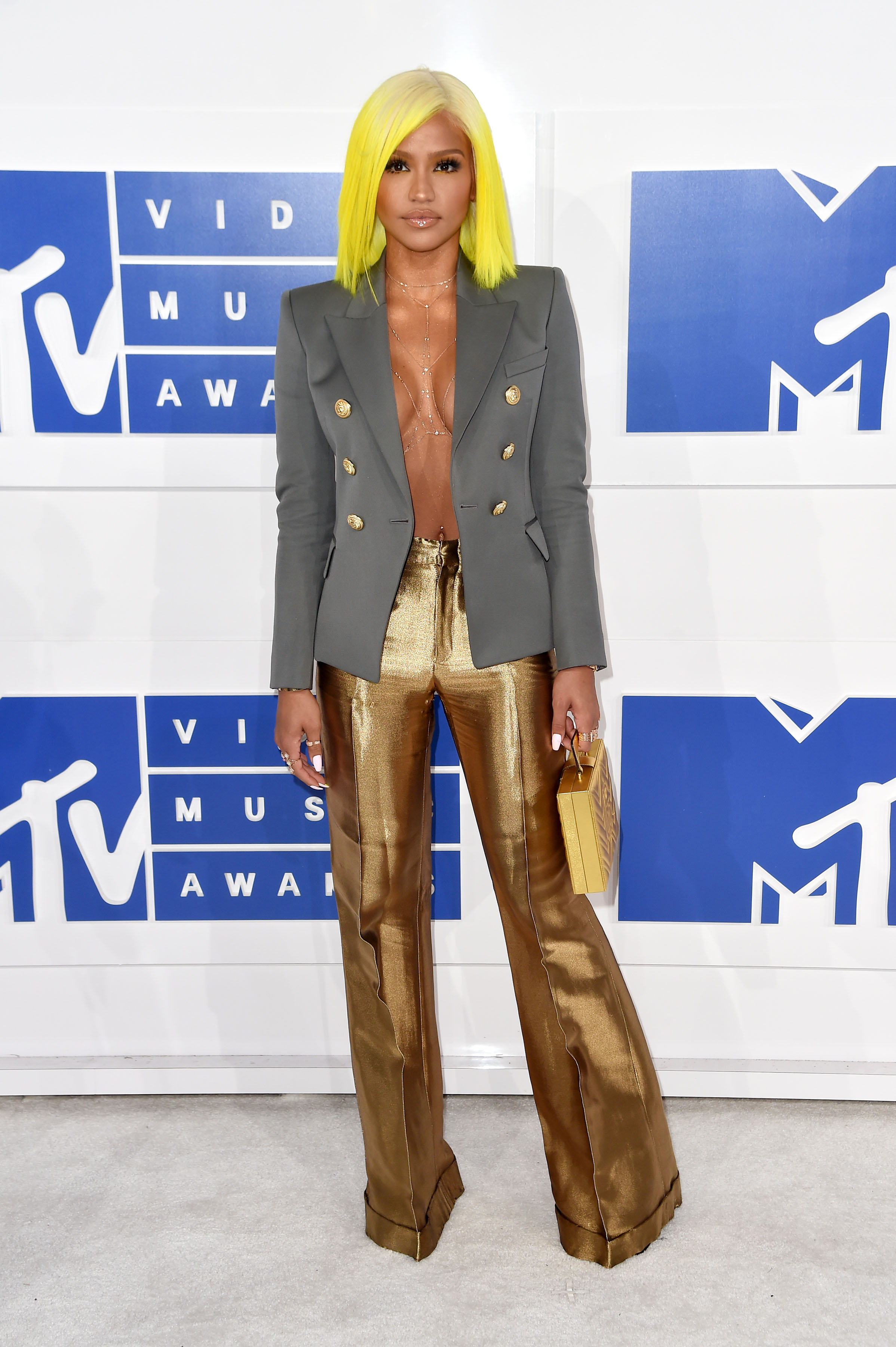 Cassie attends the 2016 MTV Video Music Awards at Madison Square Garden on Aug. 28, 2016 in New York City.