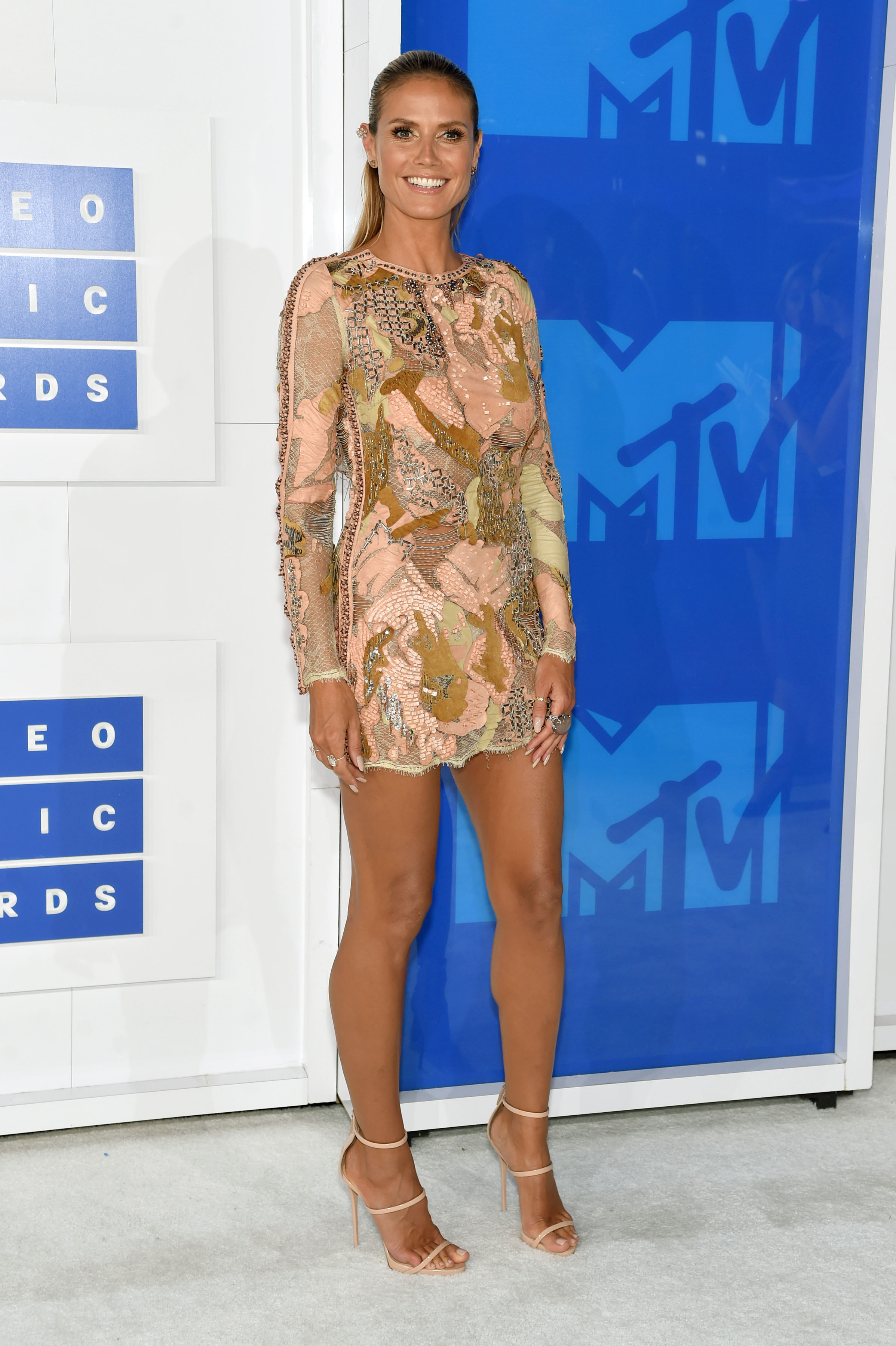 Heidi Klum attends the 2016 MTV Video Music Awards at Madison Square Garden on Aug. 28, 2016 in New York City.