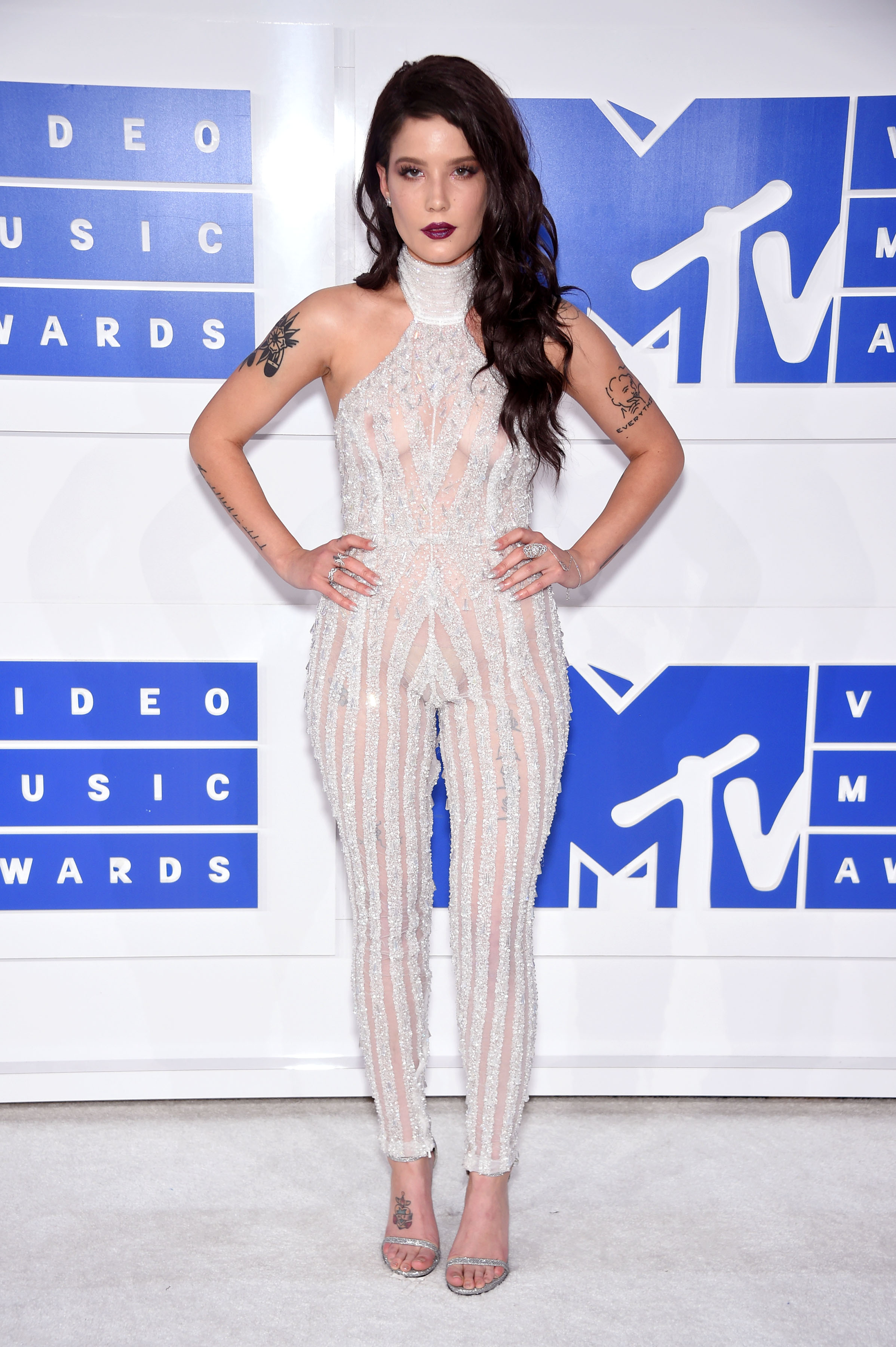 Halsey attends the 2016 MTV Video Music Awards at Madison Square Garden on Aug. 28, 2016 in New York City.