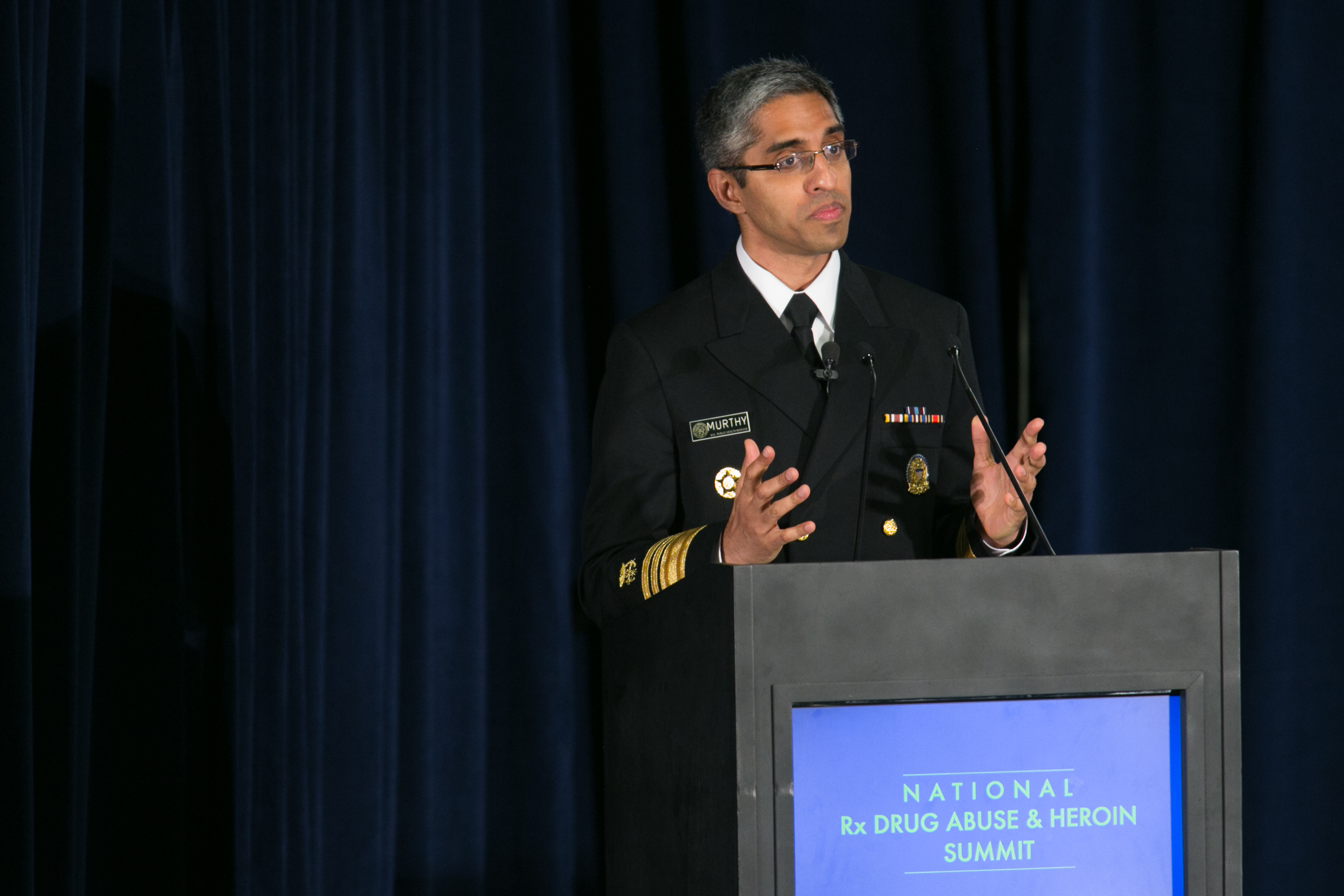 Surgeon General of the United States Dr. Vivek Murthy.