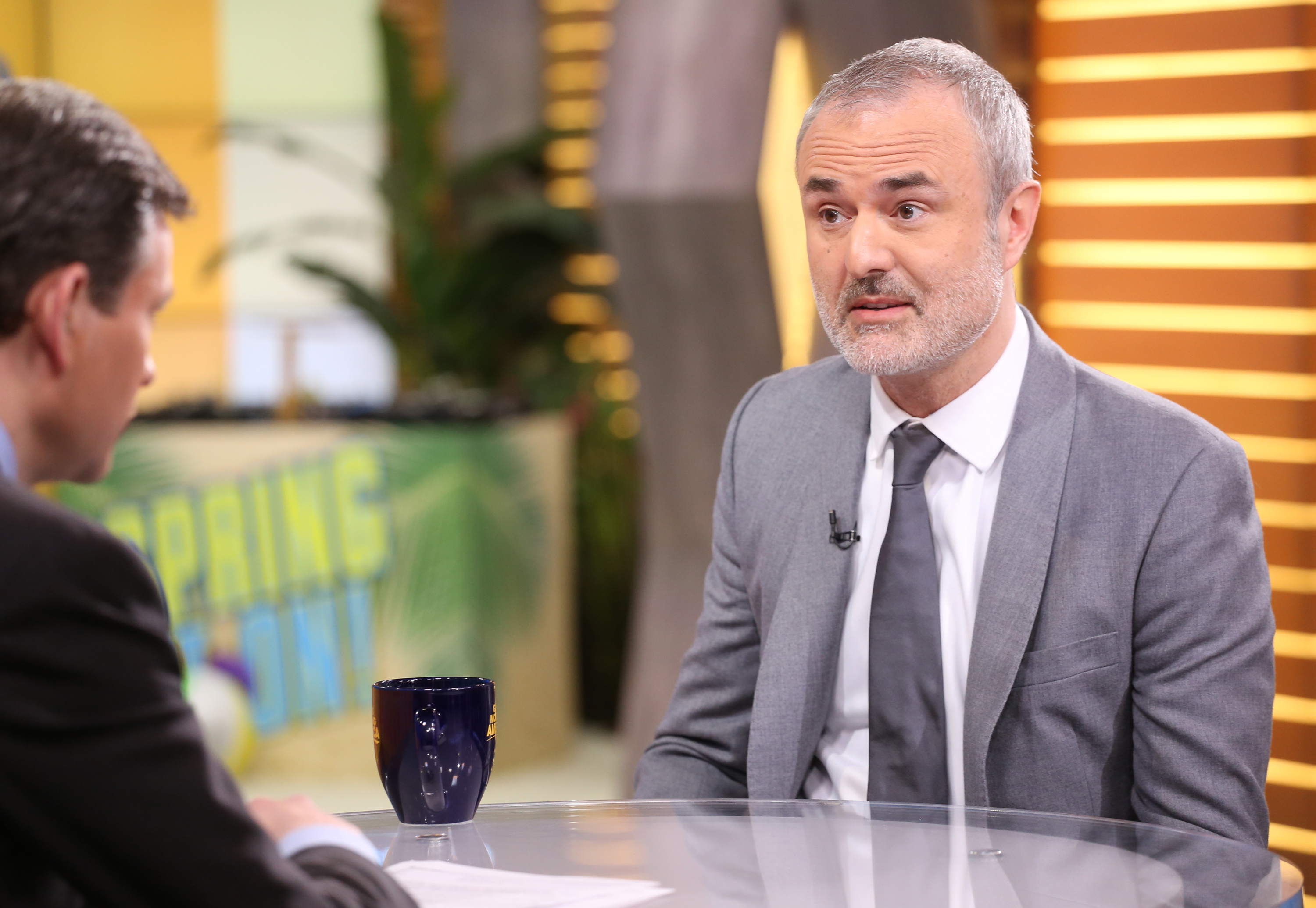 Nick Denton of Gawker is a guest on  Good Morning America  on March 24, 2016.