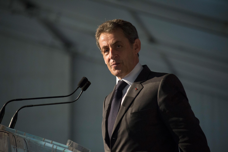 Former French President Nicolas Sarkozy in 2015.