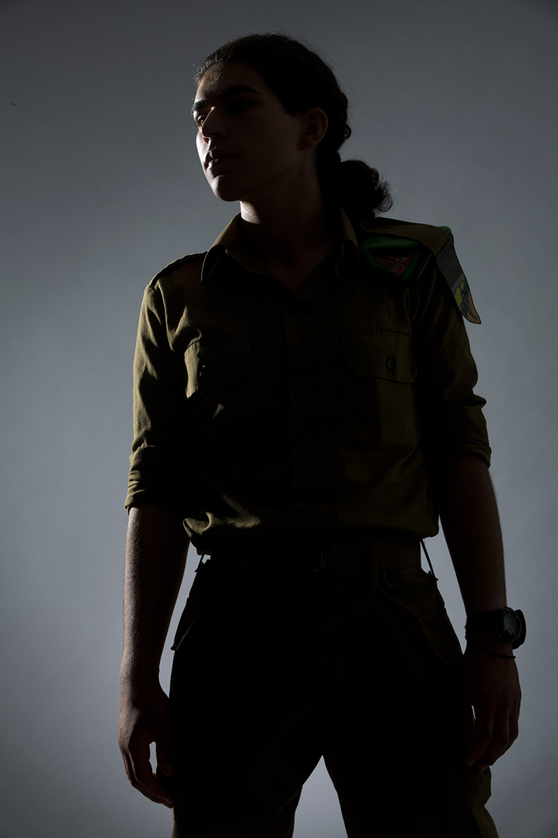 Amy, a transgender IDF soldier, in Tel Aviv, Israel, in July. She grew up in a religious family and found the army more accepting than she anticipated.