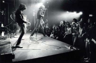 Ramones, CBGB, 1977.