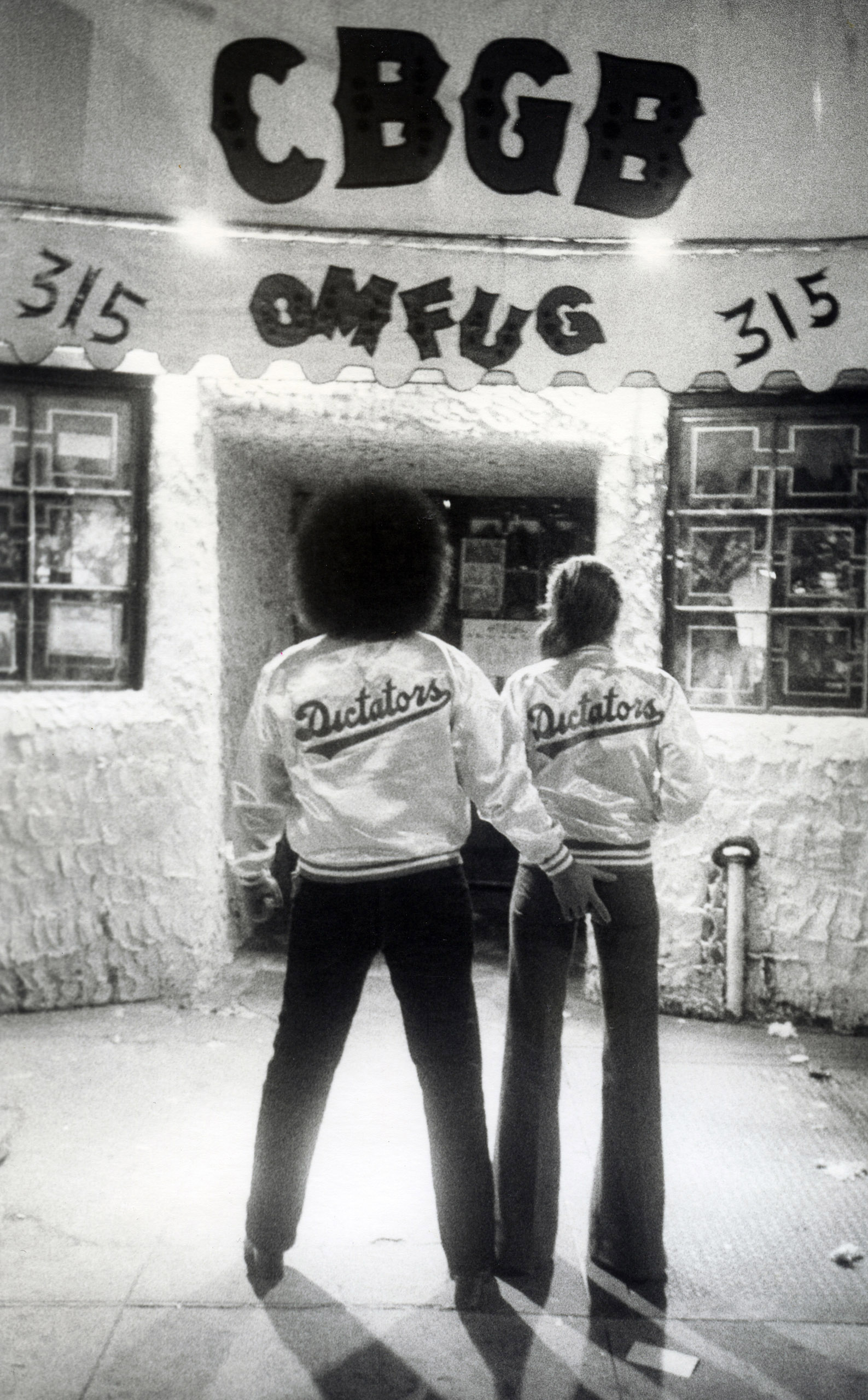 Handsome Dick Manitoba and Jody, Bowery, 1976.