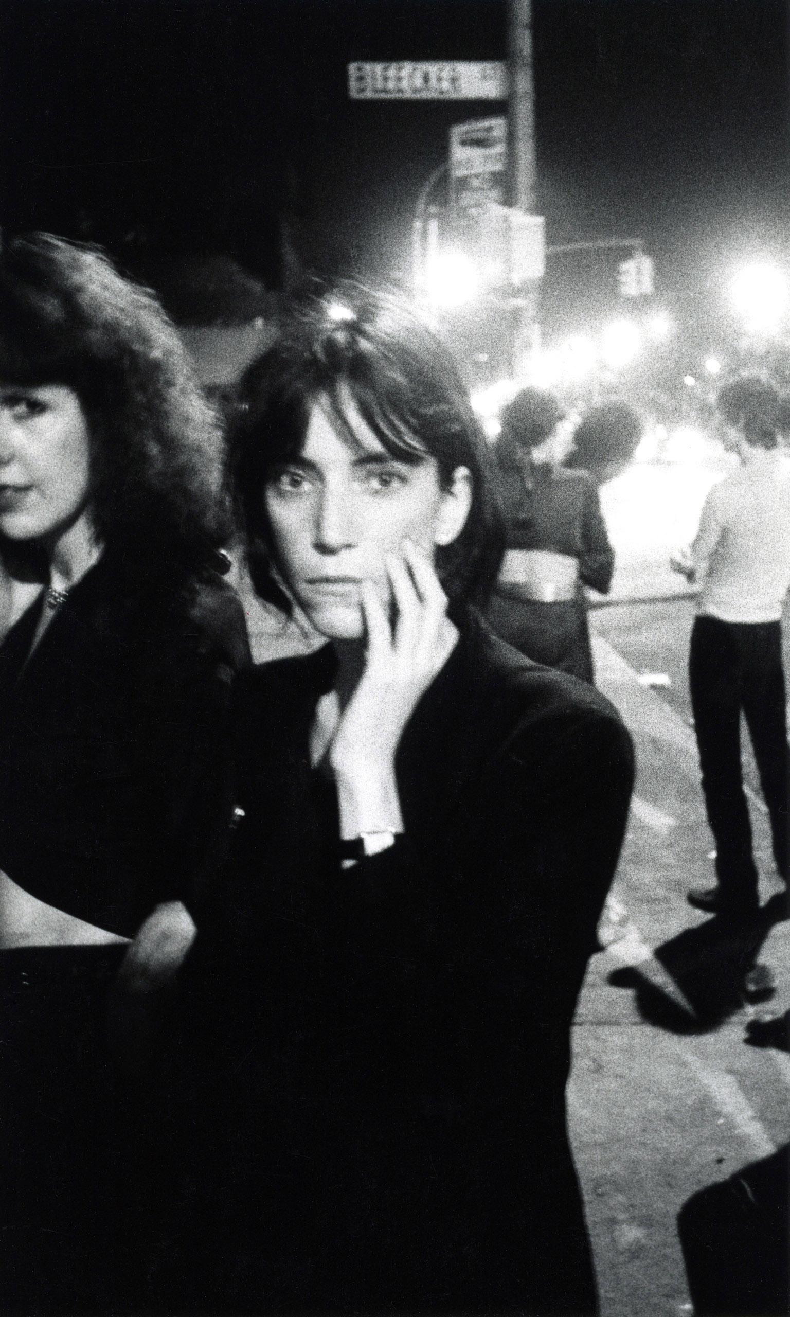 Patti Smith, Bowery, 1976.