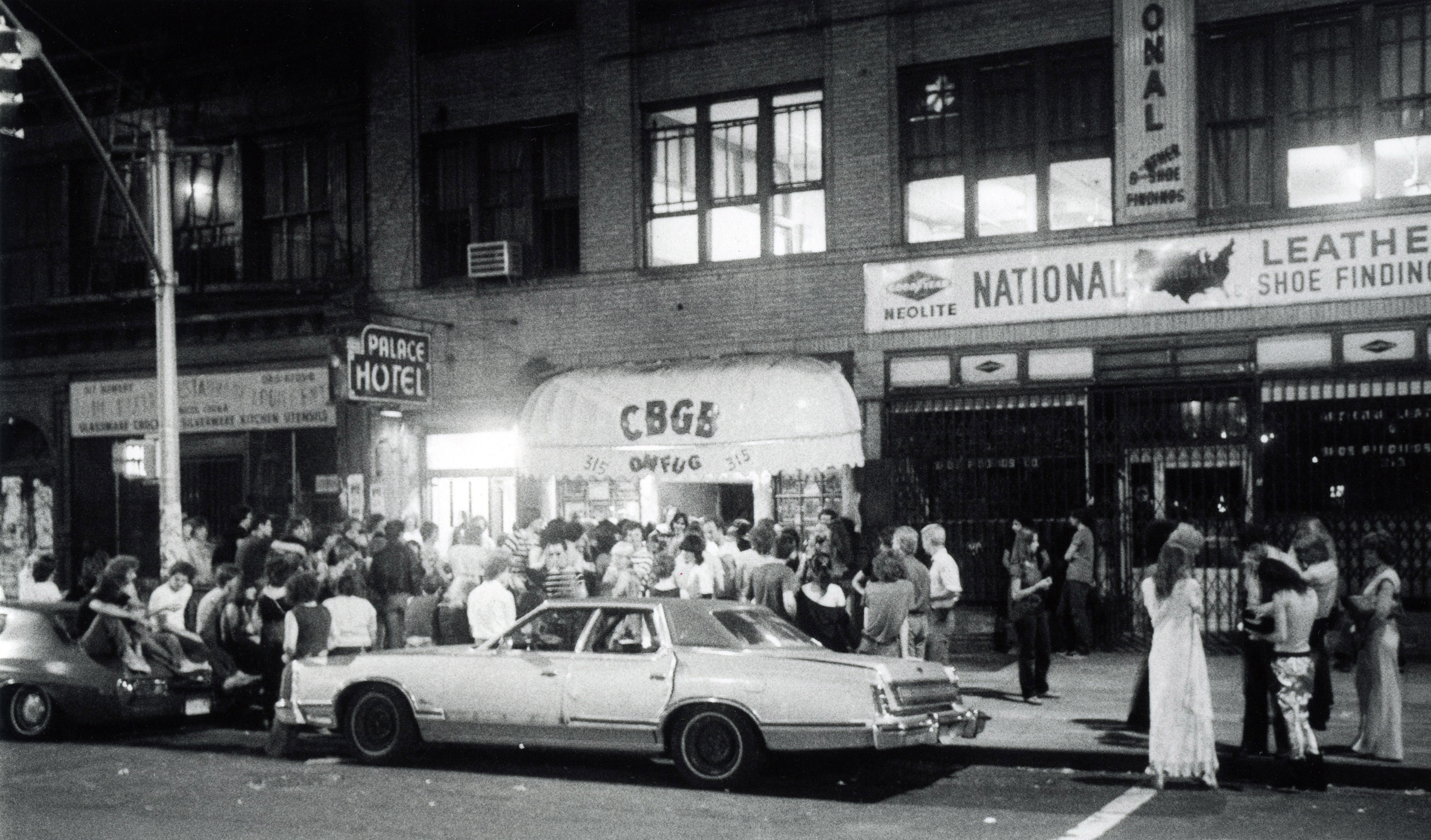 Bowery view, summer, 1977.