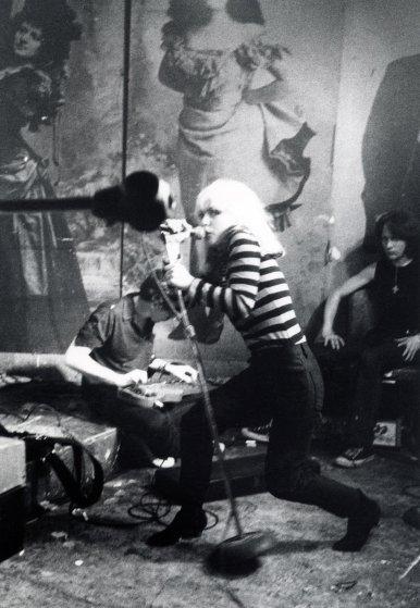 Blondie, PUNK Magazine Benefit, CBGB, 1977.