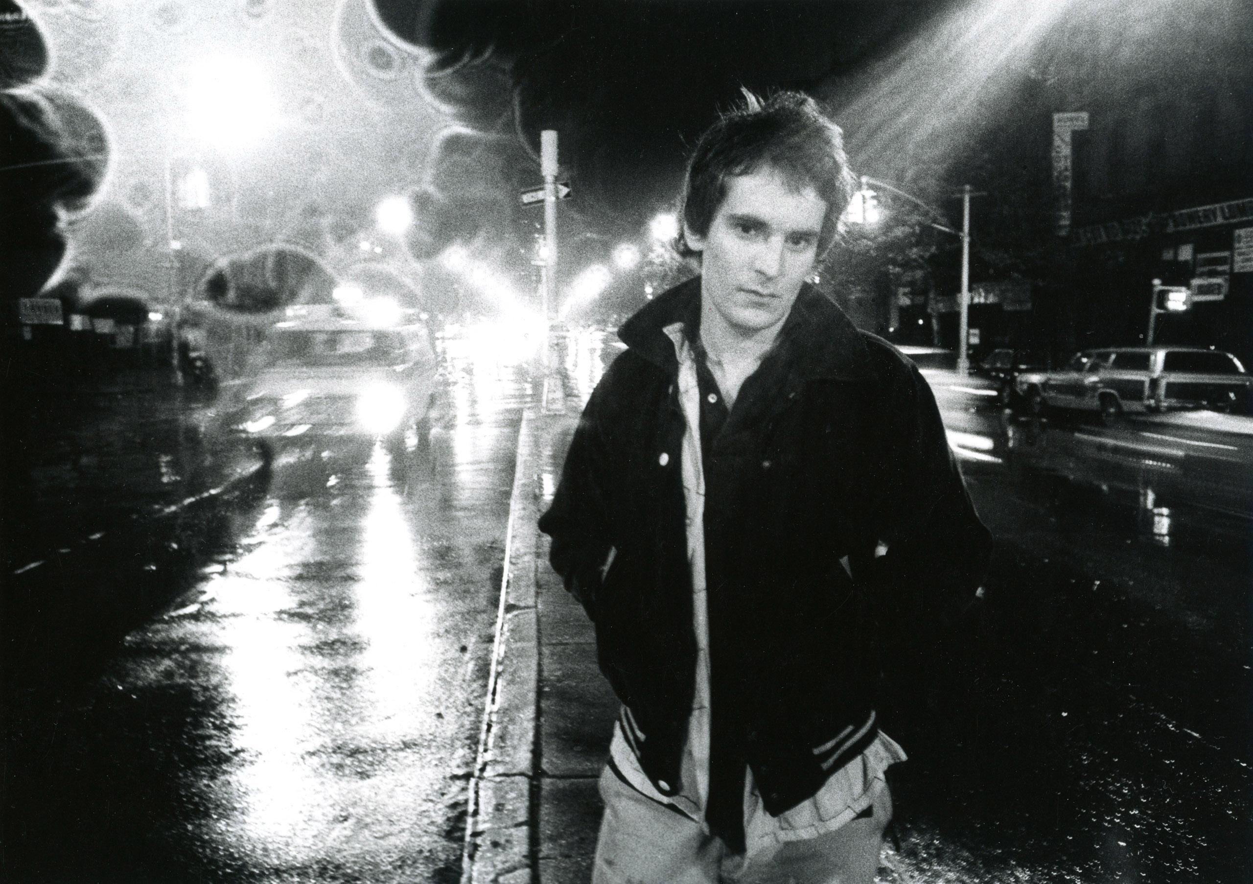 Alex Chilton, Bowery, 1977.