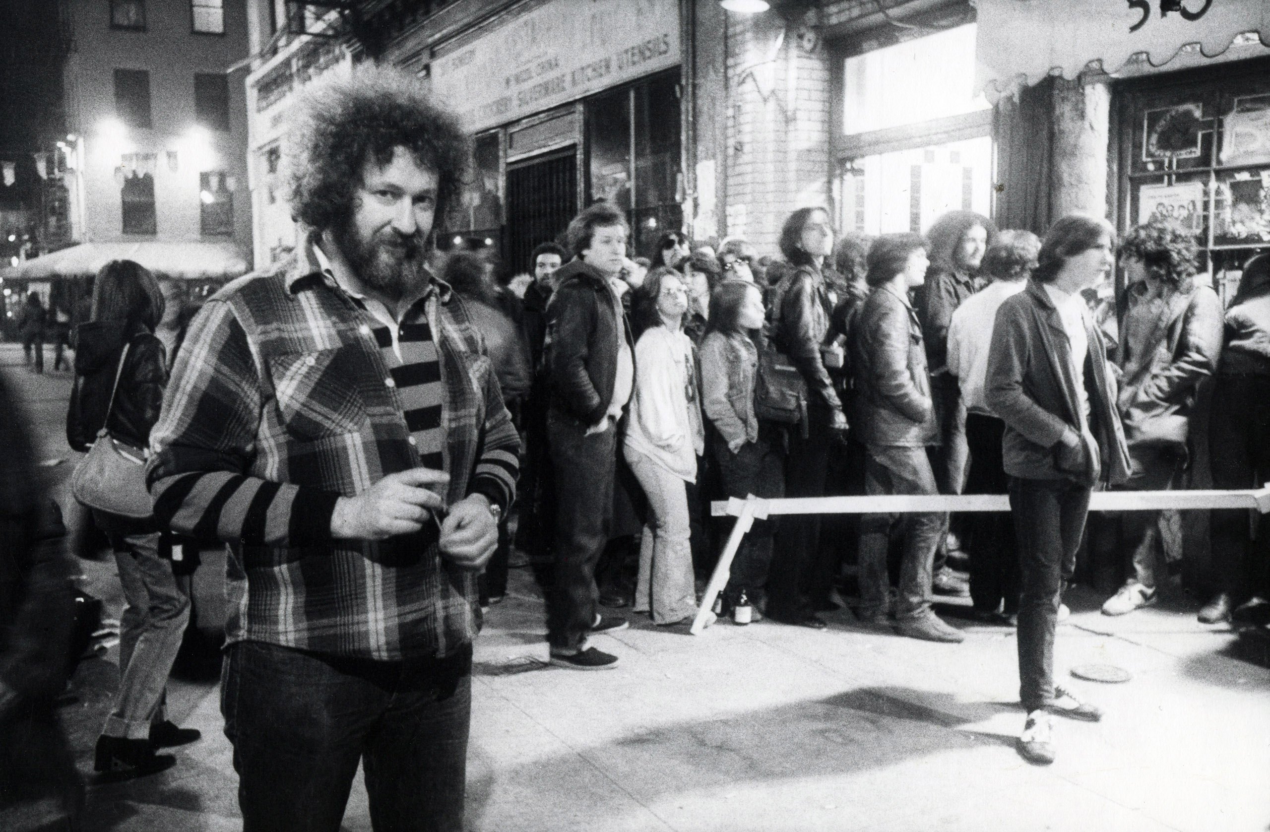 Hilly Kristal, Bowery, 1977.