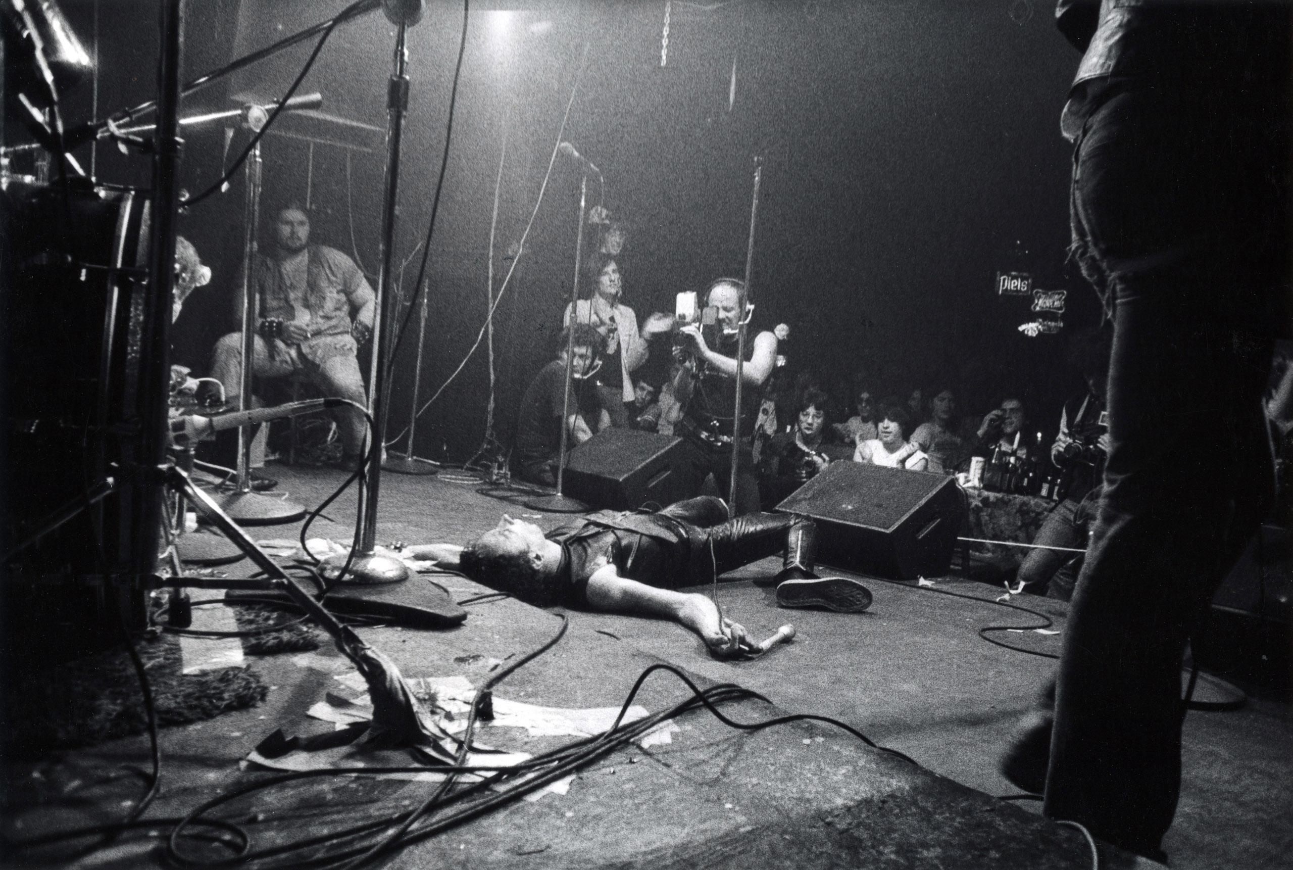 Dead Boys, CBGB, 1977.