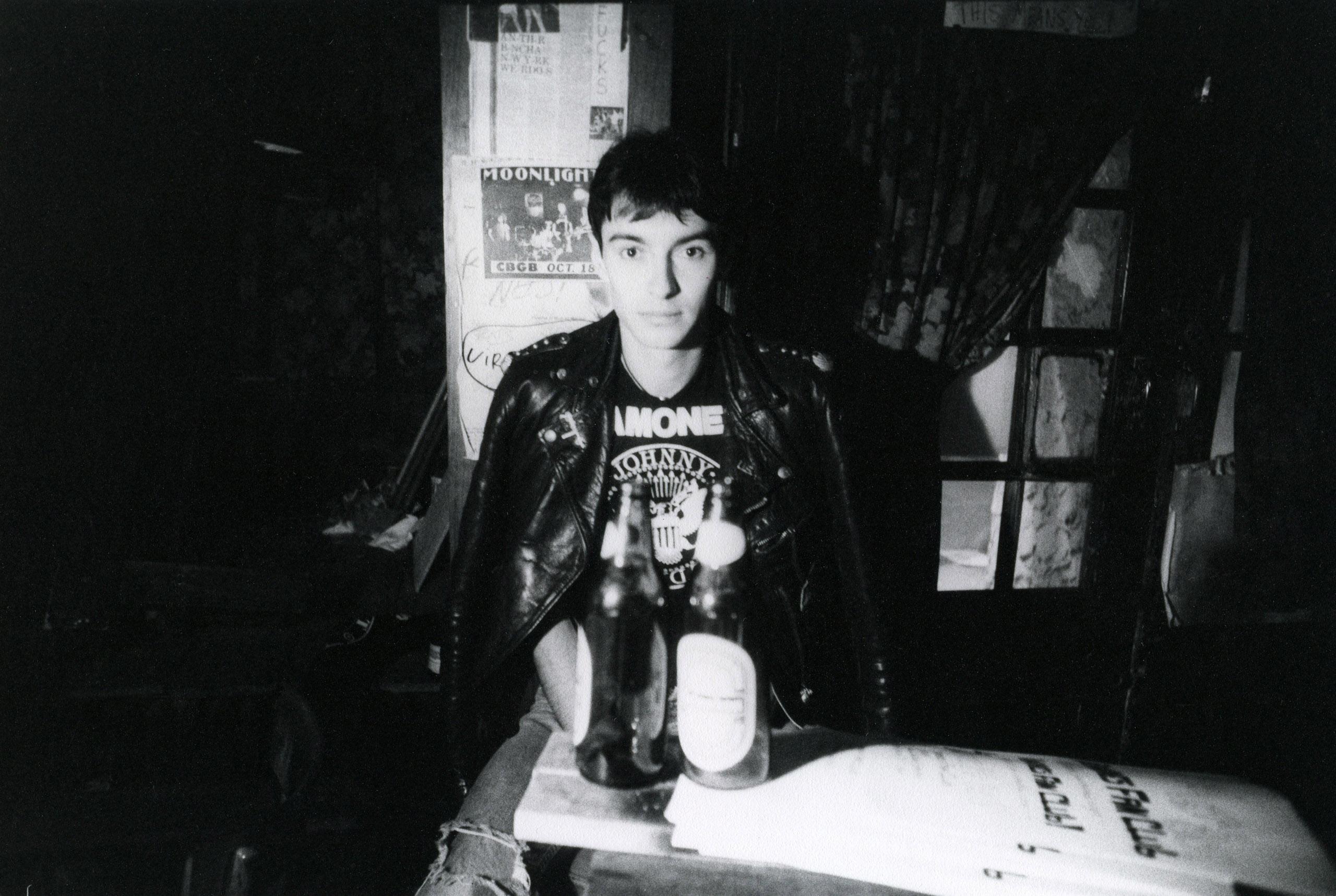 Arturo Vega, CBGB entrance, 1977.