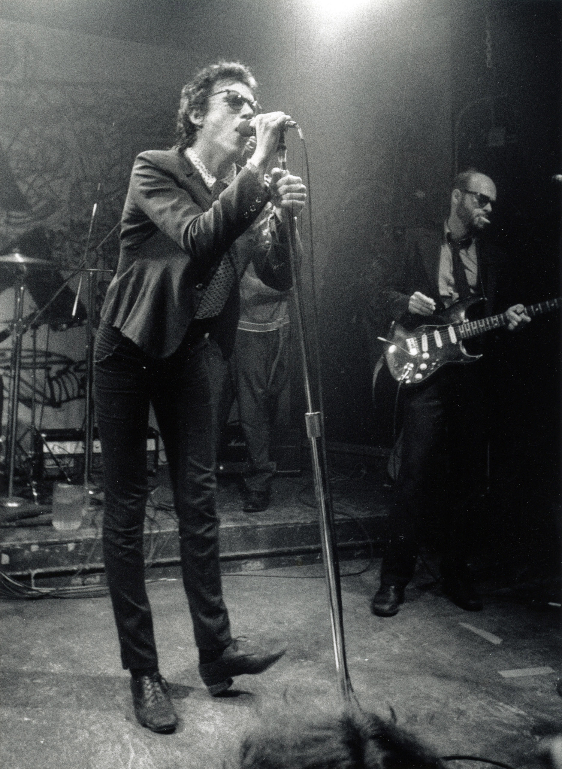 Richard Hell and Bob Quine, CBGB, 1978.