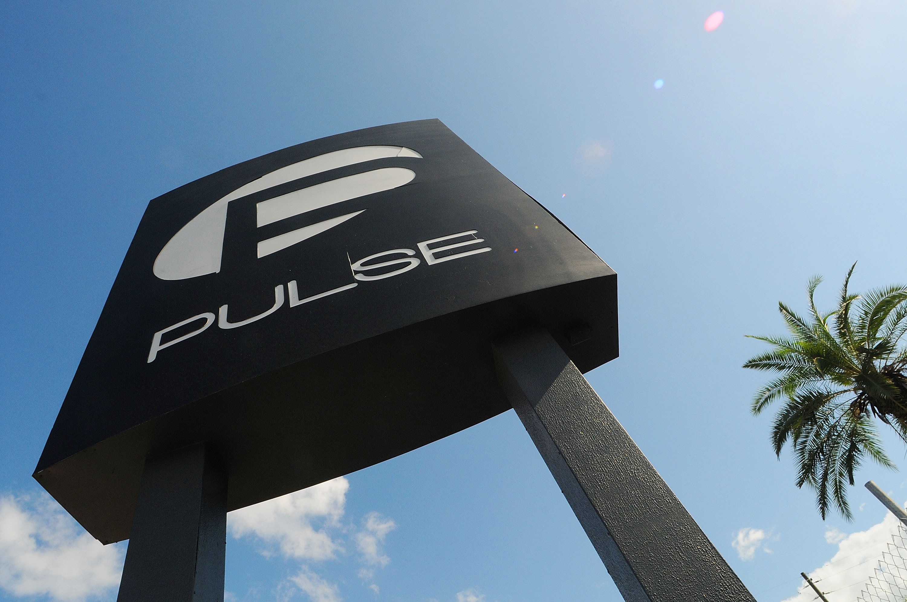 A view of the Pulse Nightclub sign on June 21, 2016 in Orlando, Florida. Orlando community continues to mourn deadly mass shooting at gay club.  The Orlando community continues to mourn the June 12 shooting at the Pulse nightclub in what is being called the worst mass shooting in American history, Omar Mir Seddique Mateen killed 49 people at the popular gay nightclub early last Sunday. Fifty-three people were wounded in the attack which authorities and community leaders are still trying to come to terms with.