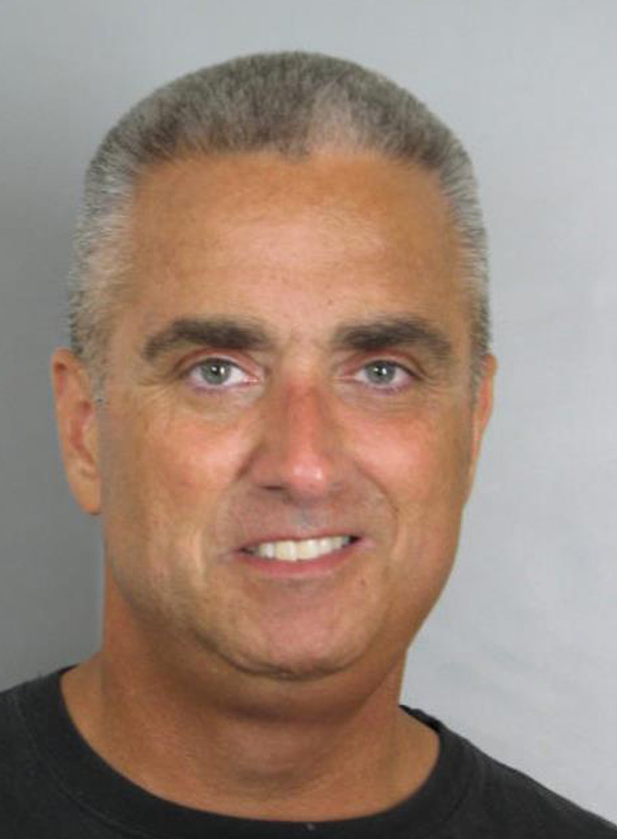 "City of Fairfax, Va., Mayor Richard ""Scott"" Silverthorne in a booking photo provided by the Fairfax County, Va., Police Department."