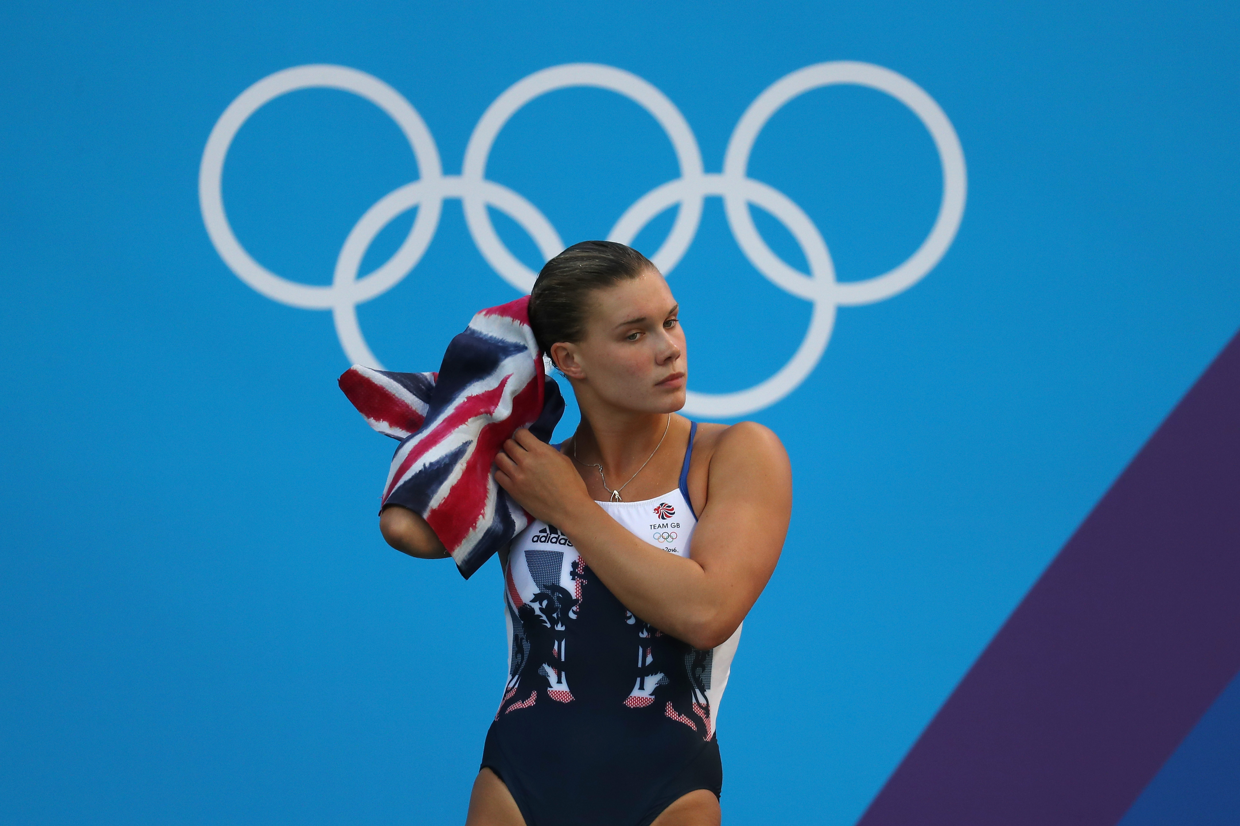 Grace Reid of Great Britain on Day 8 of the Rio 2016 Olympic Games, on August 13, 2016.