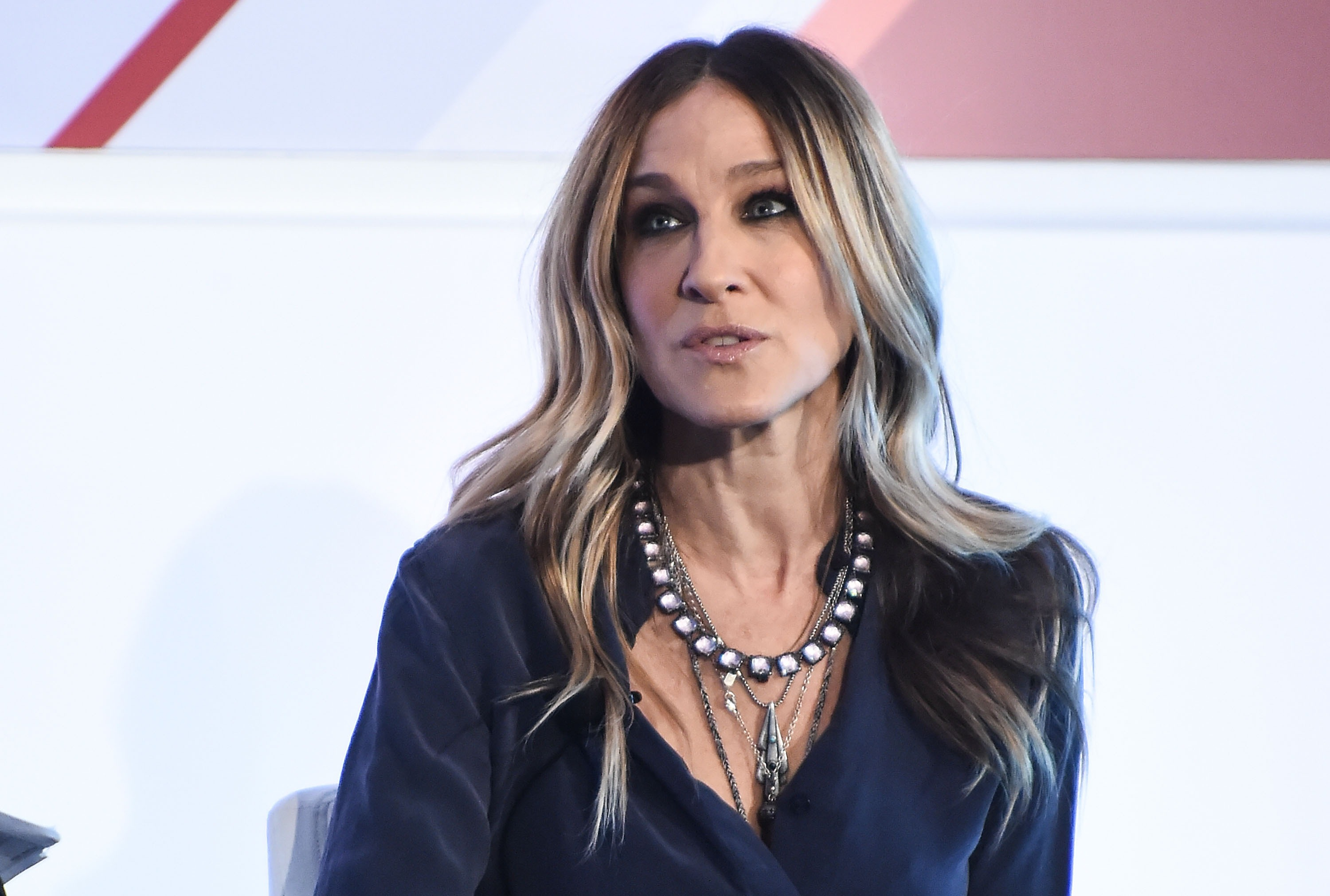 Sarah Jessica Parker speaks onstage during the 2016 Forbes Women's Summit on May 12, 2016 in New York, New York.