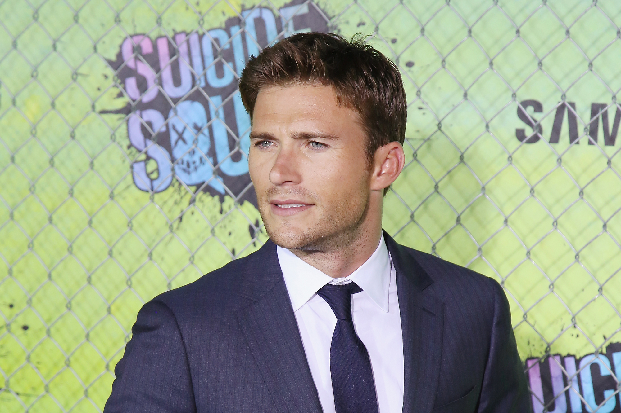 Scott Eastwood attends the  Suicide Squad  world premiere at The Beacon Theatre on August 1, 2016 in New York City.  (Photo by Mireya Acierto/FilmMagic)