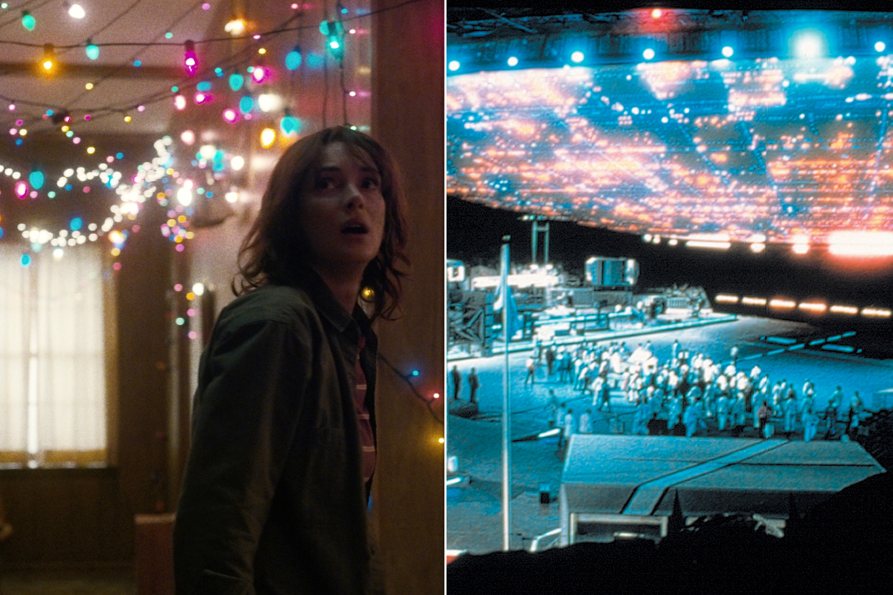 Stranger Things/Close Encounters of the Third Kind