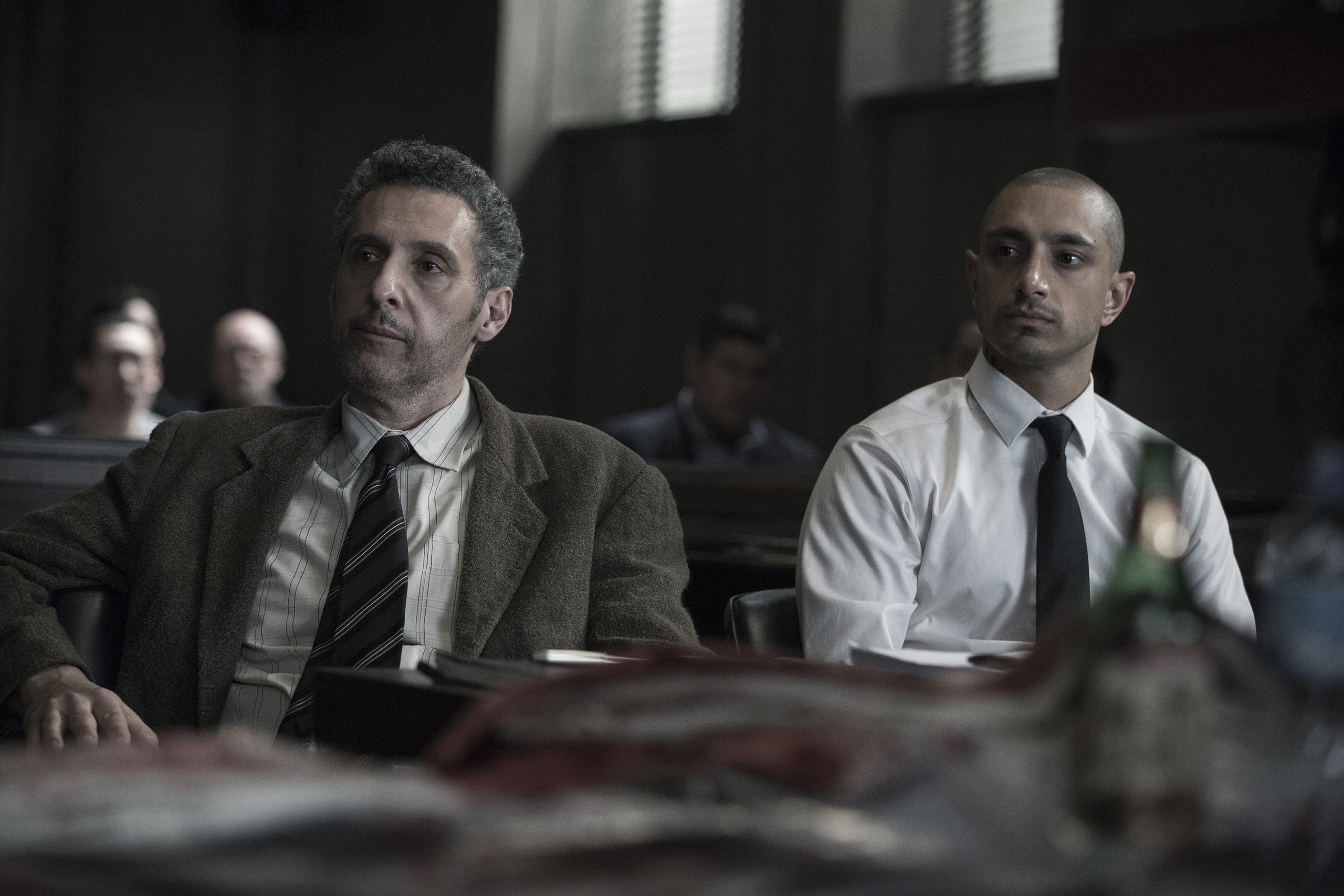 John Turturro and Riz Ahmed in  The Night Of .