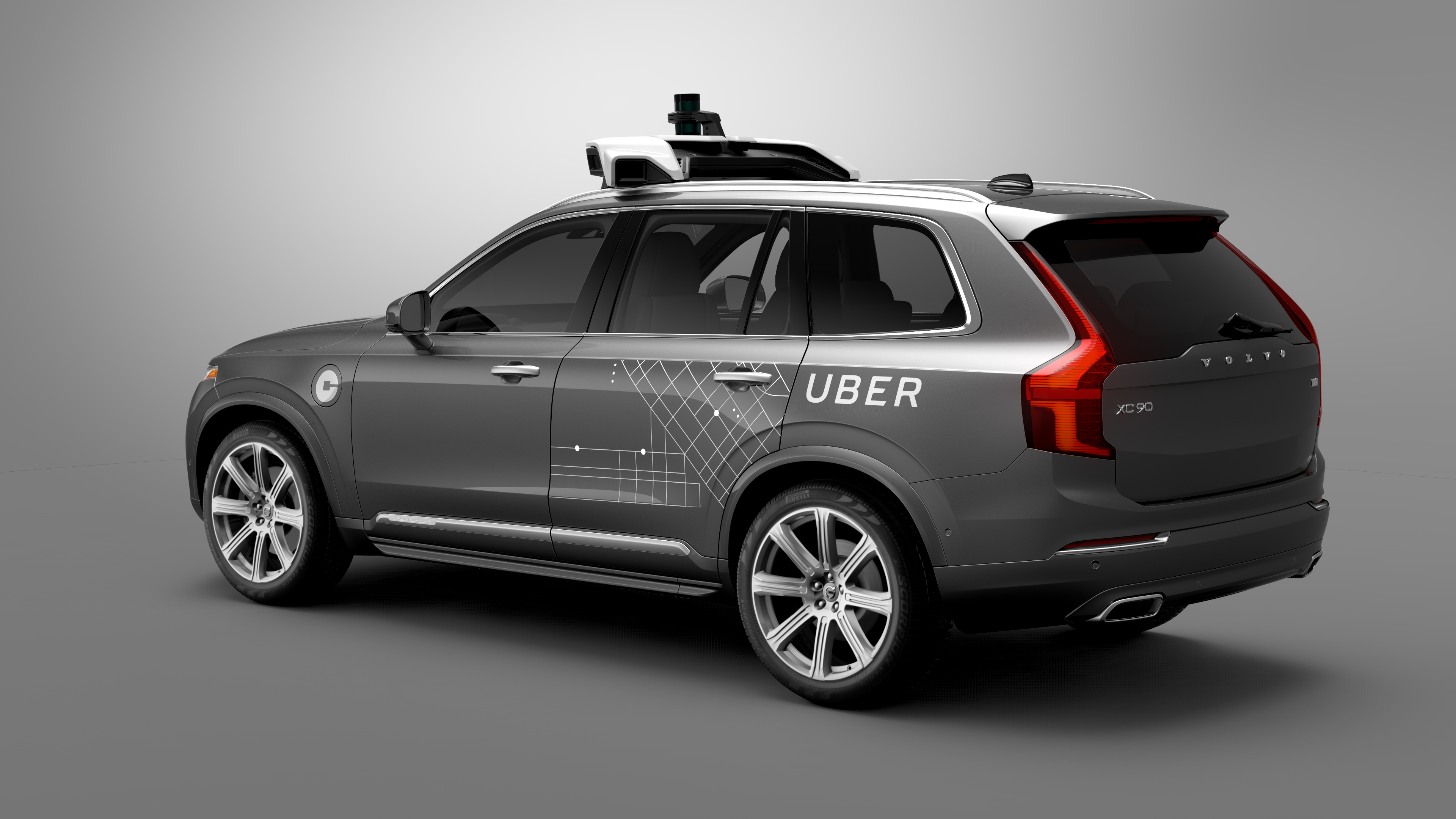 Uber is working with Volvo to develop self-driving features on Volvo's XC90 in order to someday allow customers to hail autonomous rides via the Uber app.