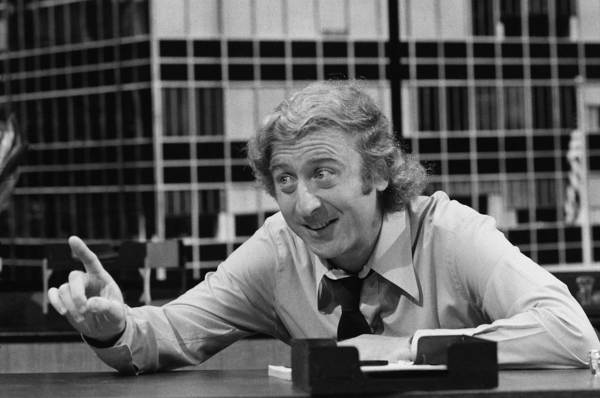 Gene Wilder as Ernie in  The Office Sharers,  1972