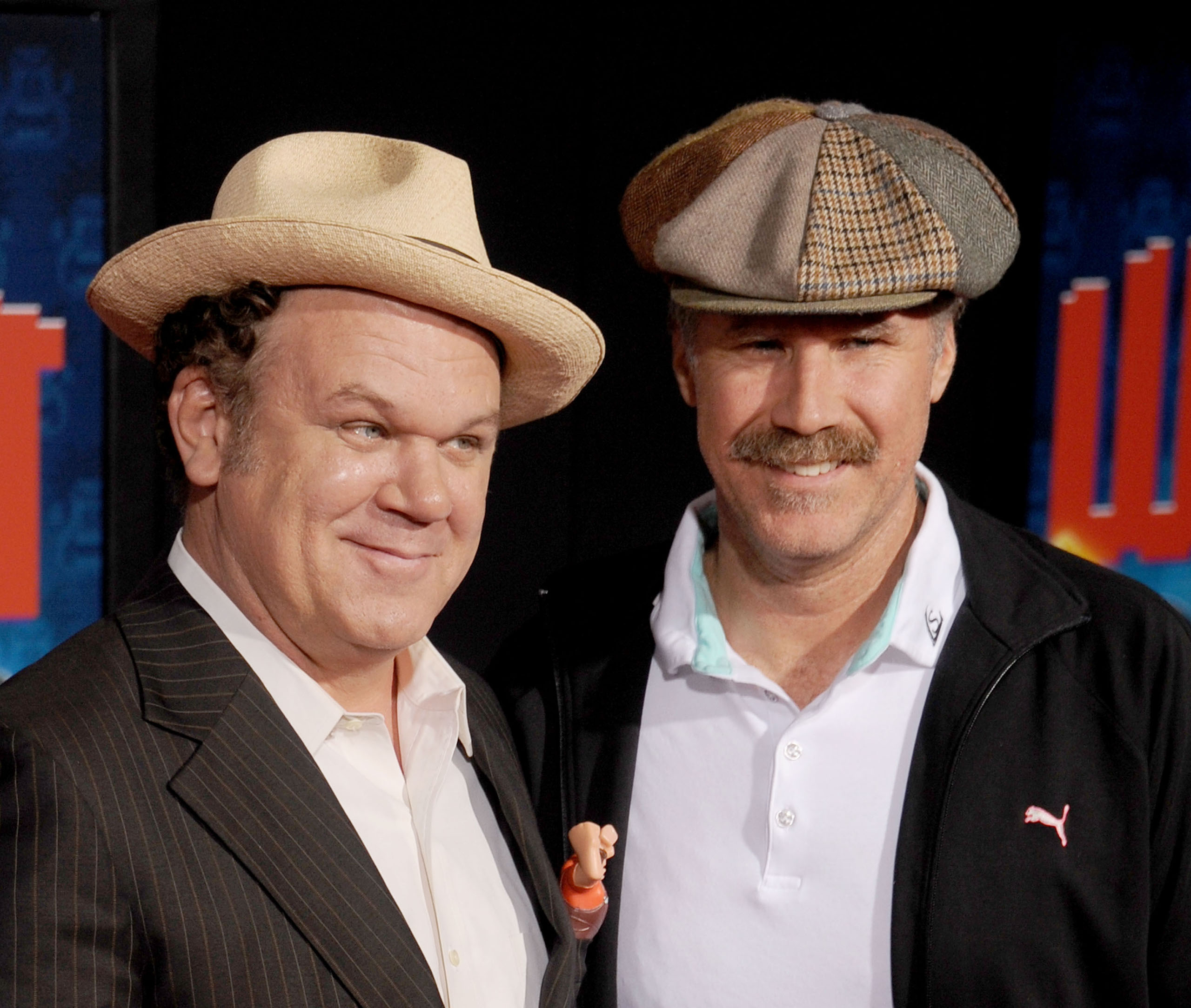 John C. Reilly and Will Ferrell arrive at the Los Angeles premiere of  Wreck-It Ralph  at the El Capitan Theatre in Hollywood, Calif., on Oct. 29, 2012.