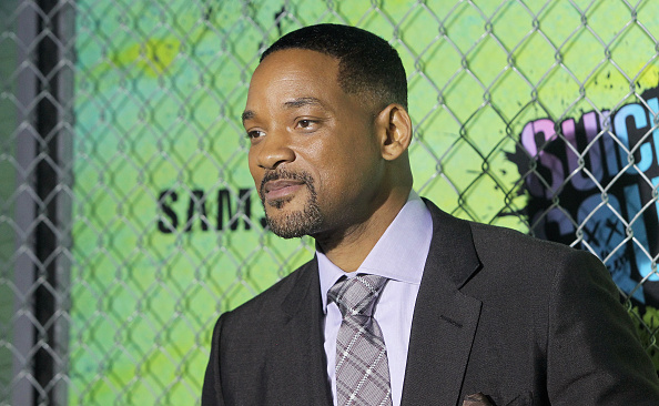Actor Will Smith attends the 'Suicide Squad' world premiere at The Beacon Theatre on August 1, 2016 in New York City.