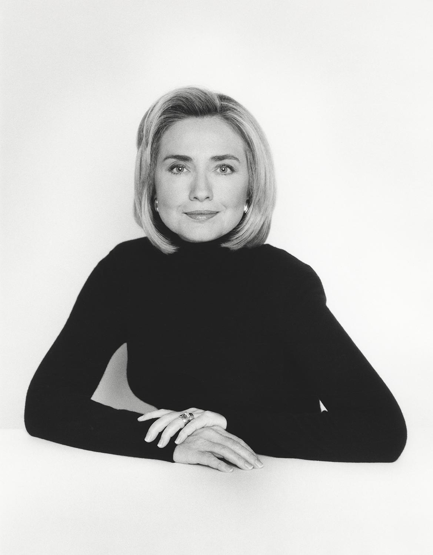 Hillary Clinton, 1996.