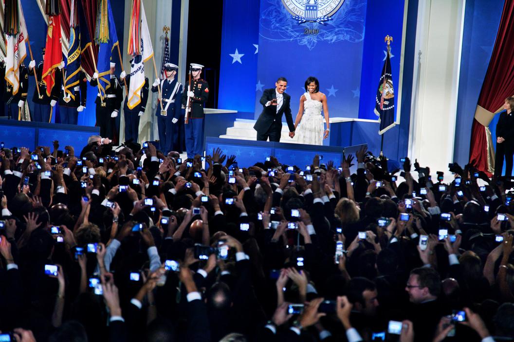 Inauguration Ball for President Barack Obama, Washington D.C., Jan., 2009.