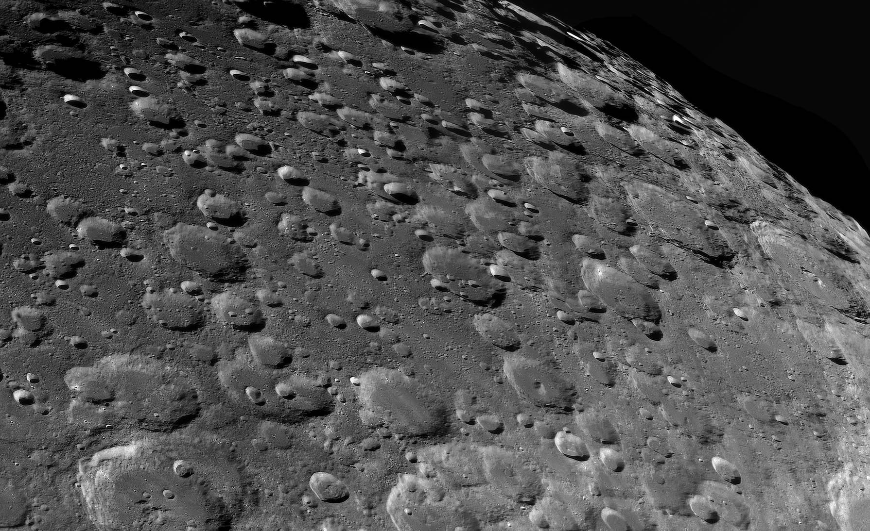 Our Moon: This is the moon of our dreams,  Jordi writes of his image, taken from L'Ametlla del Vallès in Barcelona, Spain. It shows the southern region of the lunar surface and features a number of impact craters, such as Barocius, Baco, Cuvier, Lillius, and Jacobi.