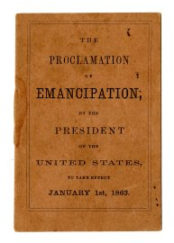 The Proclamation of Emancipation