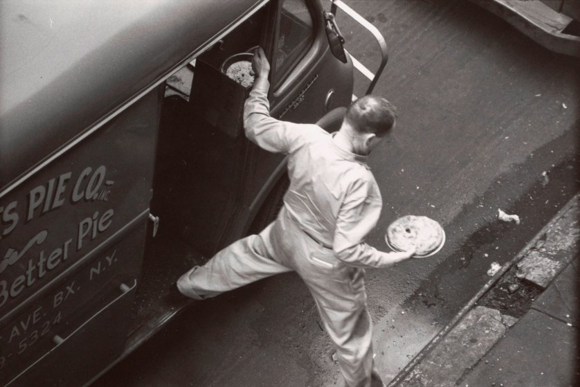 W. Eugene Smith Pie-man photo from the 1950s.
