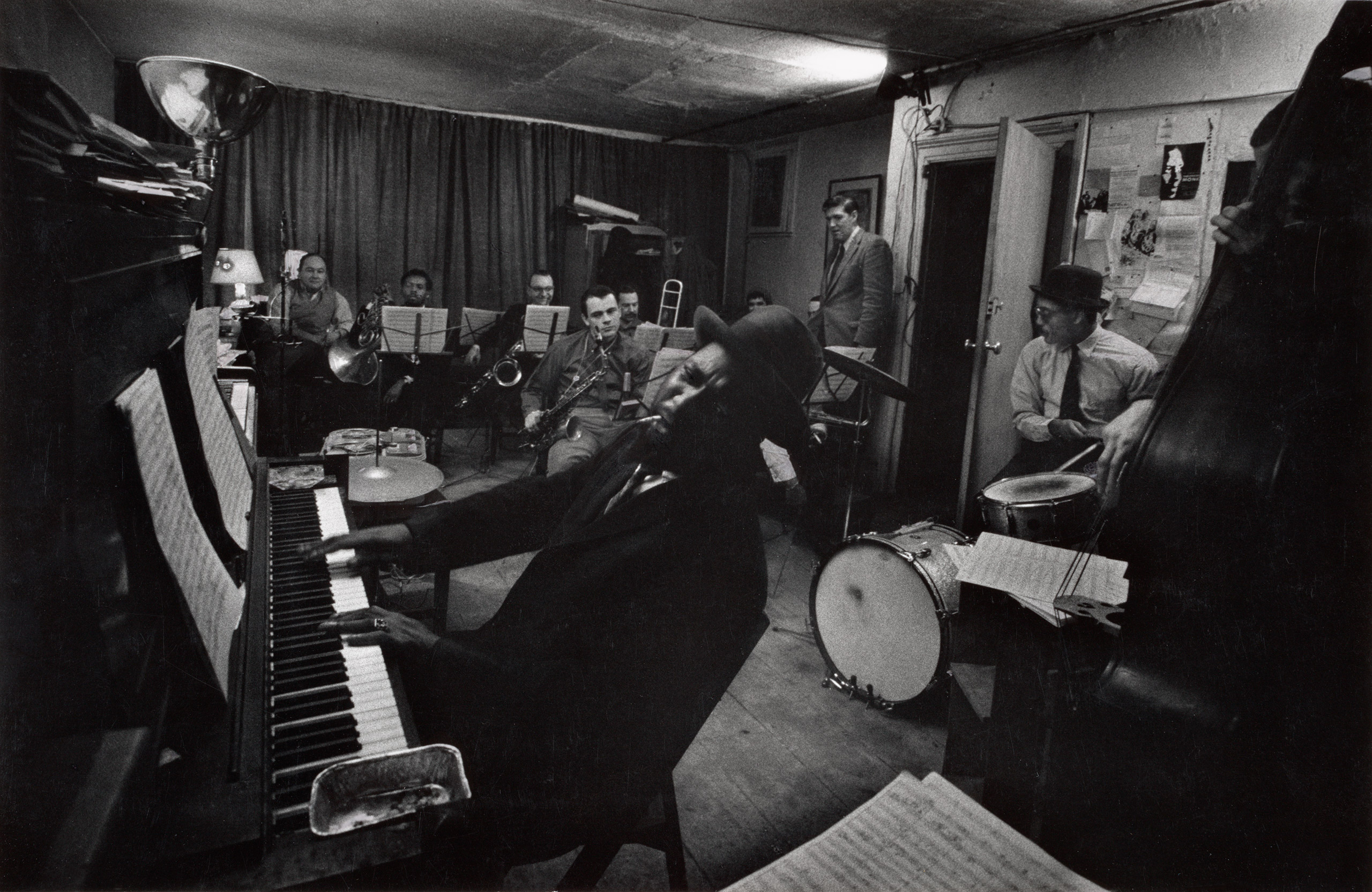 Thelonious Monk and his band, 1959.