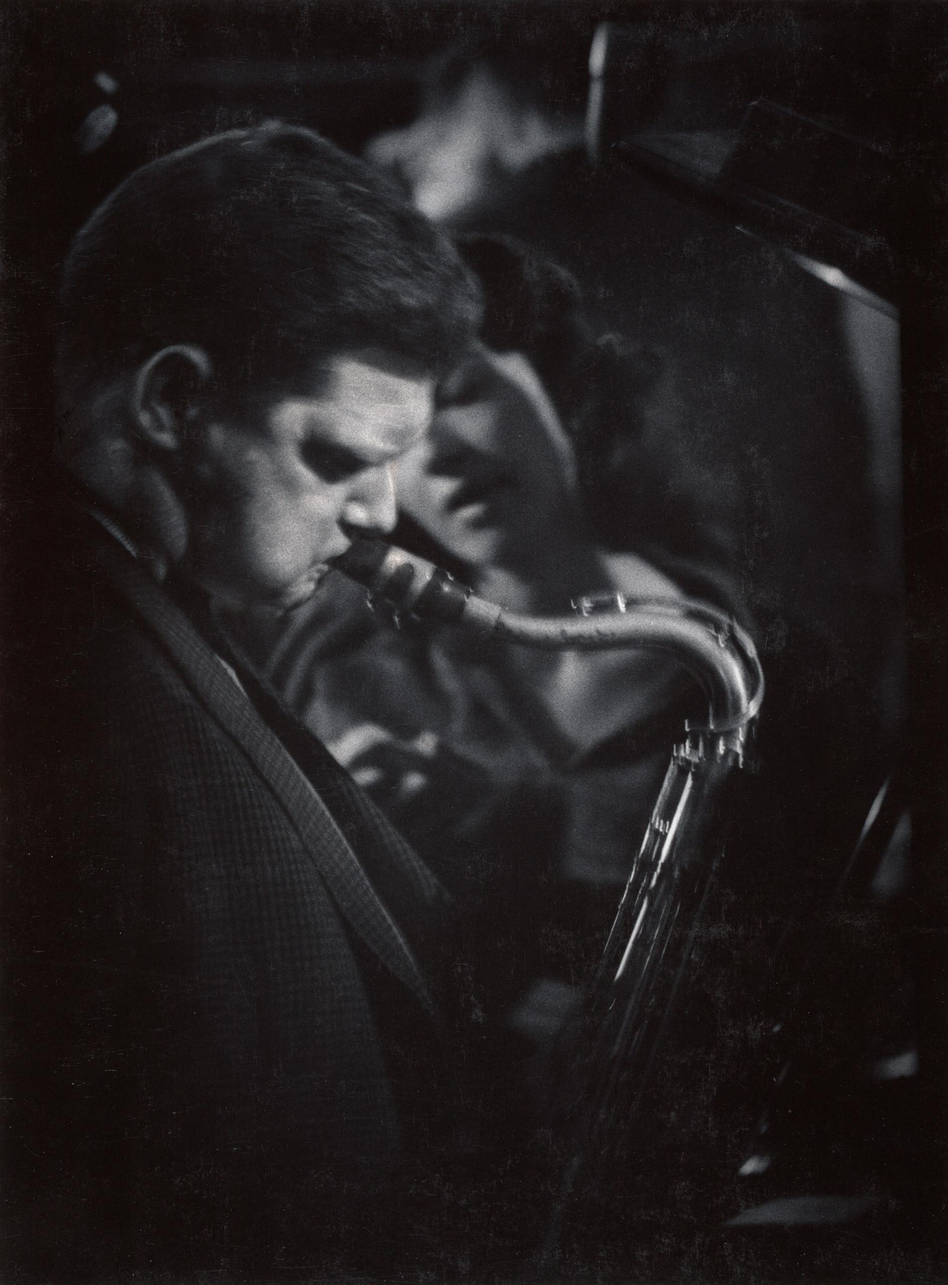 Portrait of musician Zoot Sims.
