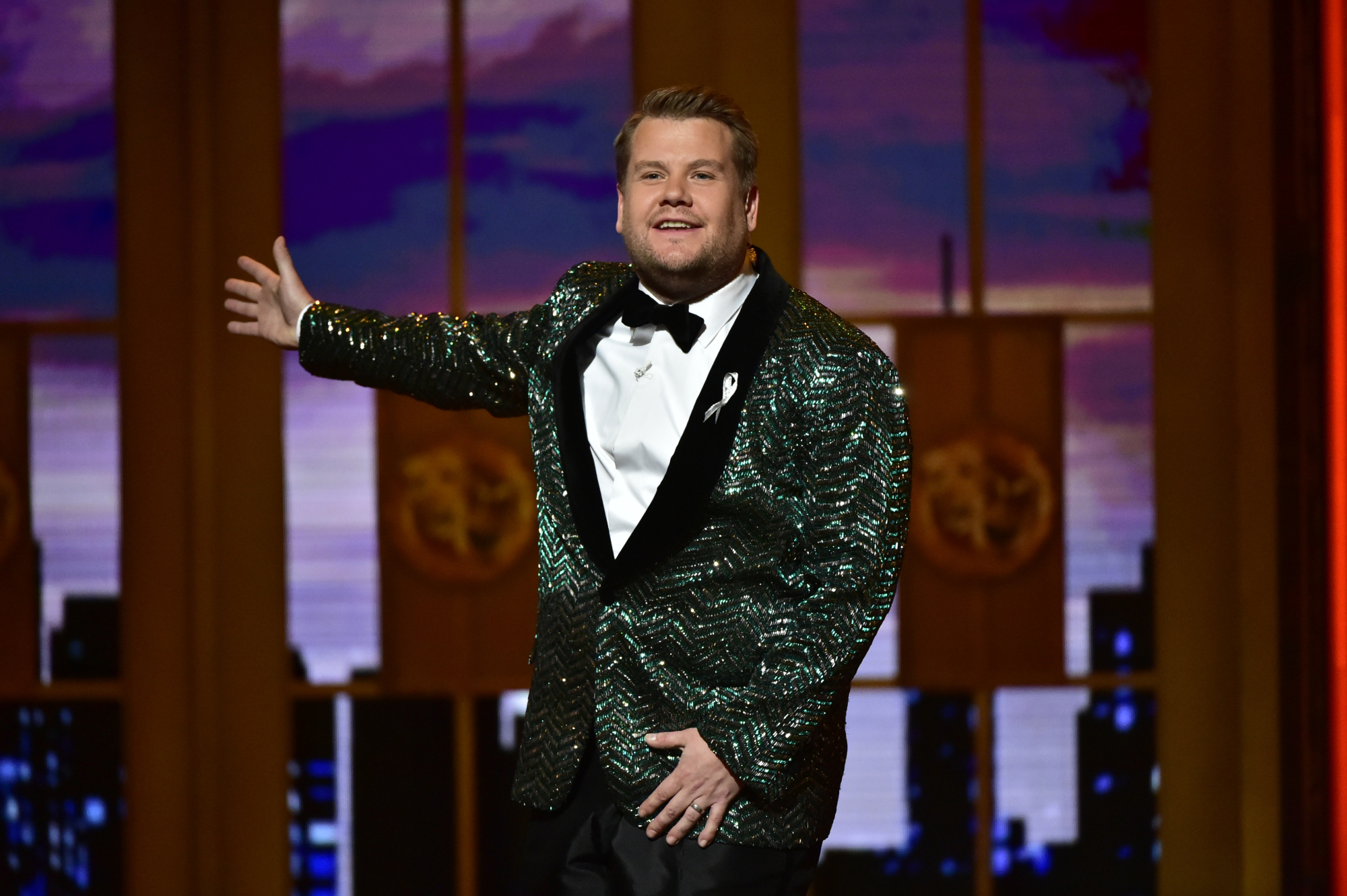 Presenting...this year's 40 Under 40 list (which includes James Corden, pictured above at the 2016 Tony Awards).