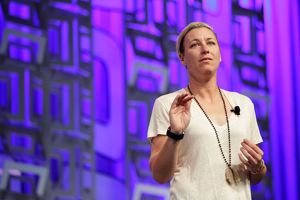 Abby Wambach at the Watermark Conference For Women 2016 Silicon Valley at the San Jose Convention Center on April 21, 2016 in San Jose, California.