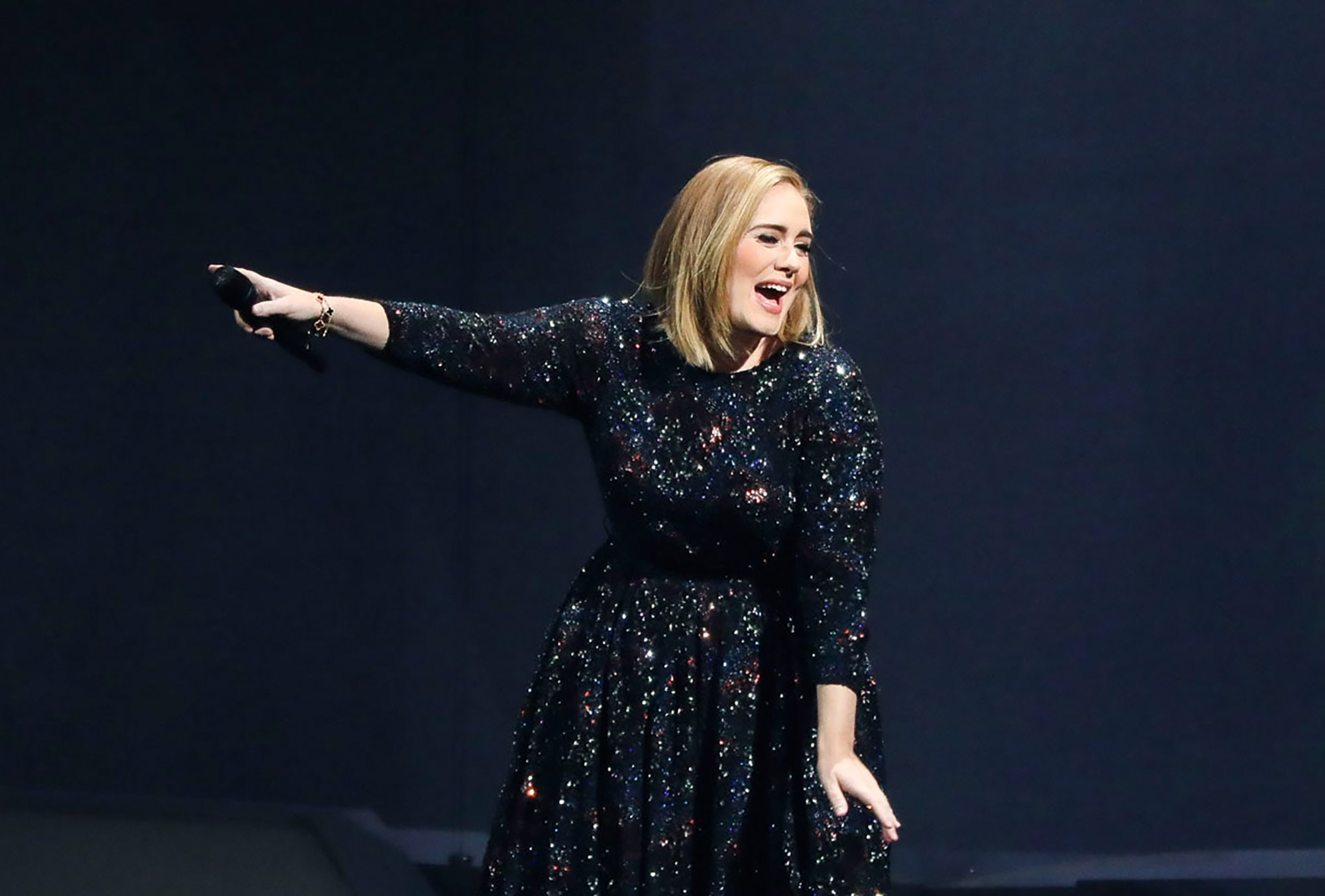 Adele performs at The Palace of Auburn Hills on September 6, 2016 in Auburn Hills, Michigan.  (Photo by Scott Legato/Getty Images for BT PR)