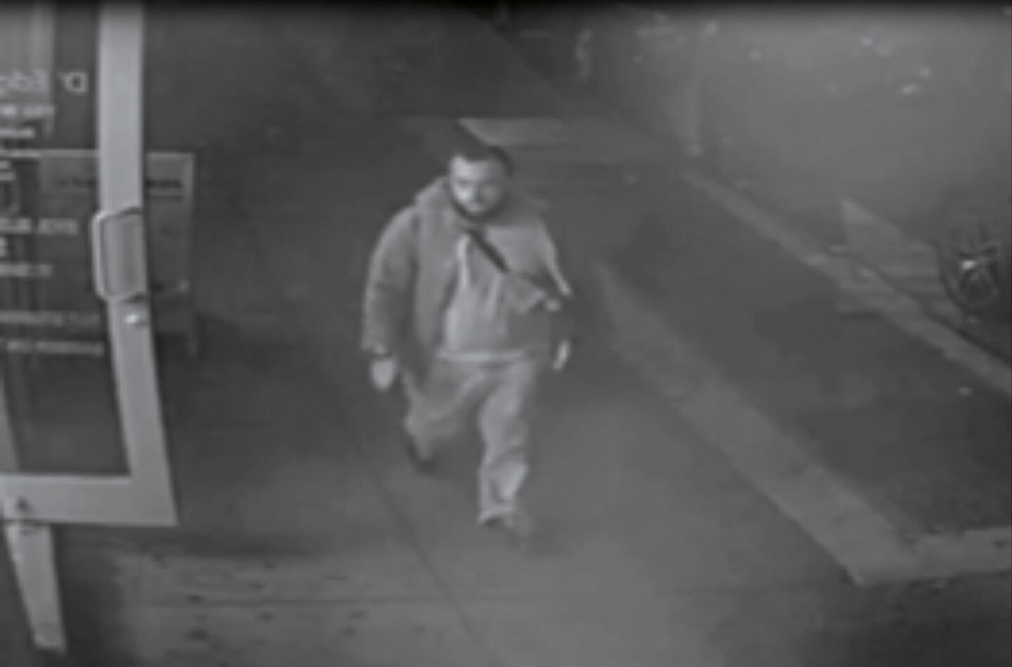 Surveillance footage shows New York City bombing suspect Ahmad Khan Rahami, 28, at the scene of the the explosion