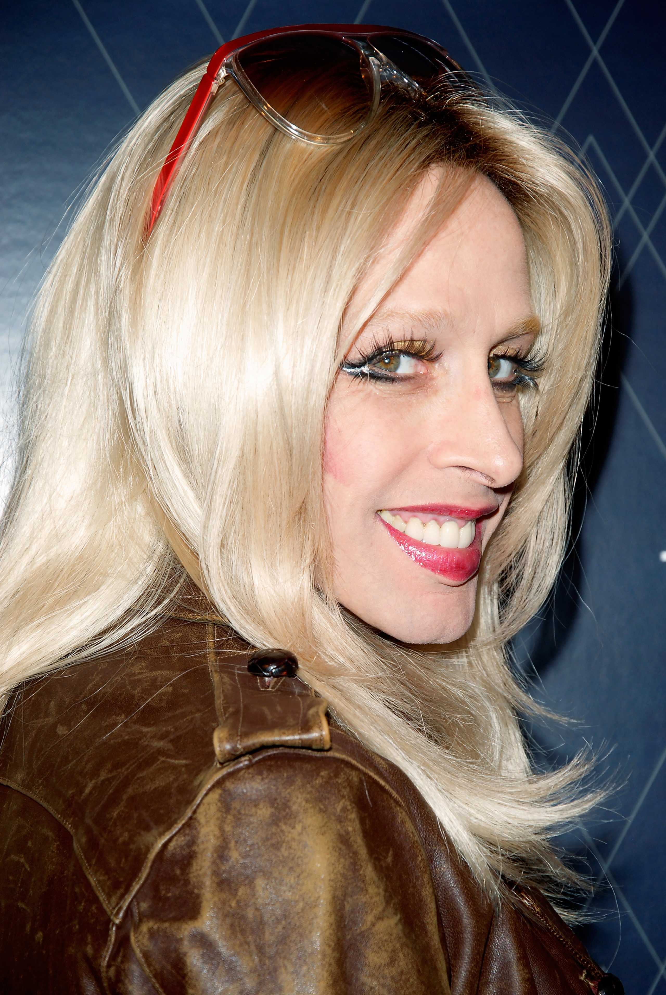 Entertainer Alexis Arquette arrives at the Grammys celebration at Hollywood Roosevelt Hotel on in Hollywood, Calif., Febr. 11, 2012.