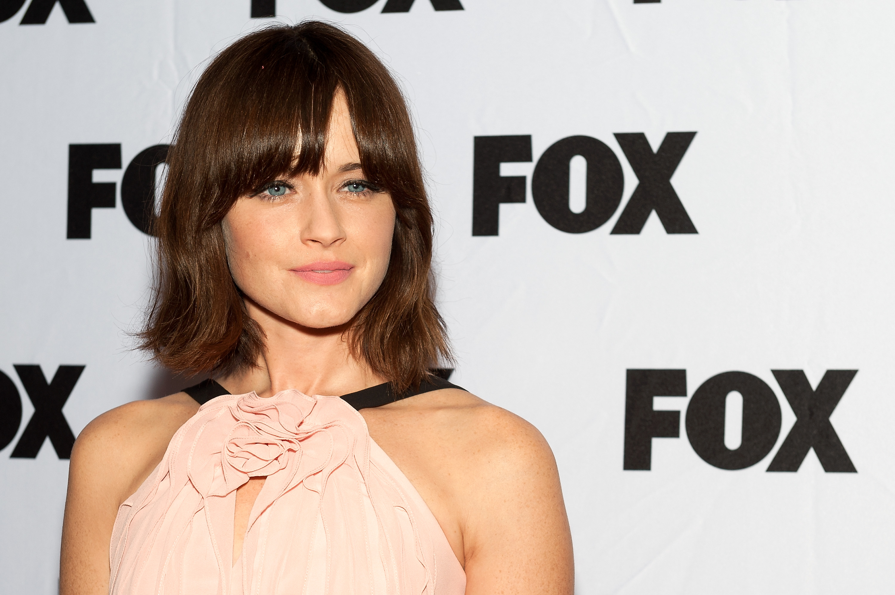 Alexis Bledel attends the  Us and Them  series screening during the 9th Annual New York Television Festival at SVA Theater on October 22, 2013.