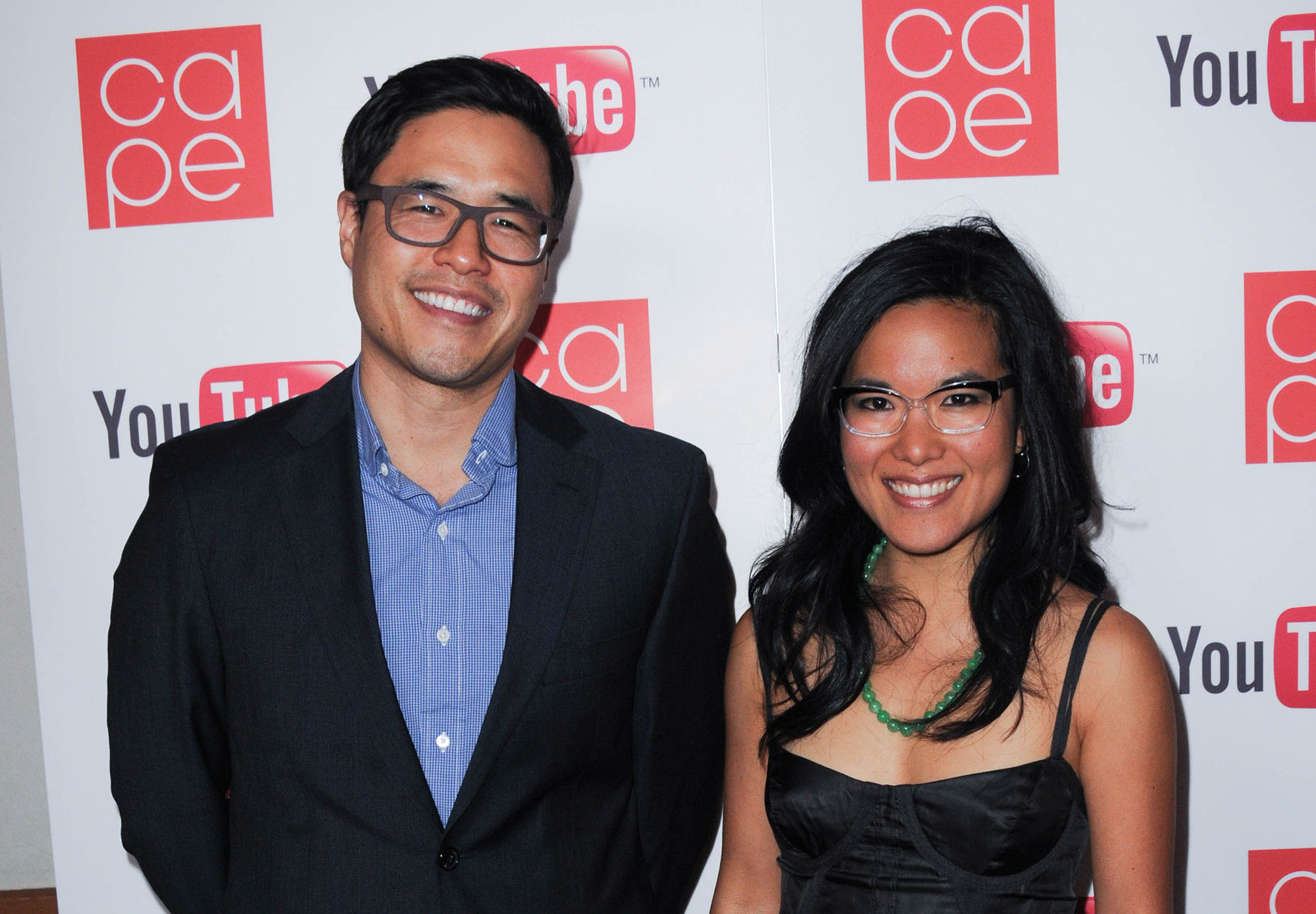 Randall Park and actress Ali Wong arrive for CAPE's 20th Anniversary Gala held at Union Station on November 12, 2011 in Los Angeles, California.  (Photo by Albert L. Ortega/Getty Images)